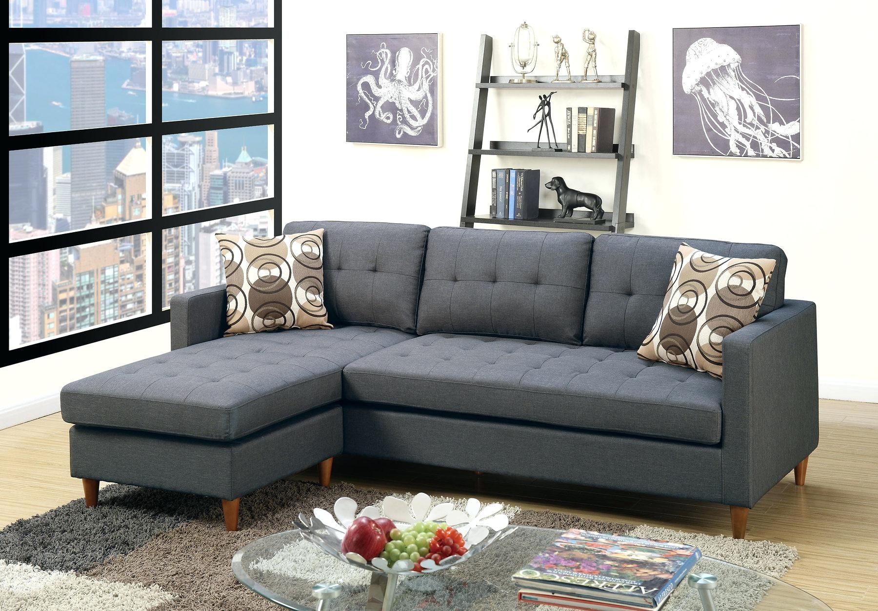 Fabric Sectional Sofas Modern With Chaise Toronto Sofa Power Recliner - for Mississauga Sectional Sofas (Image 2 of 10)