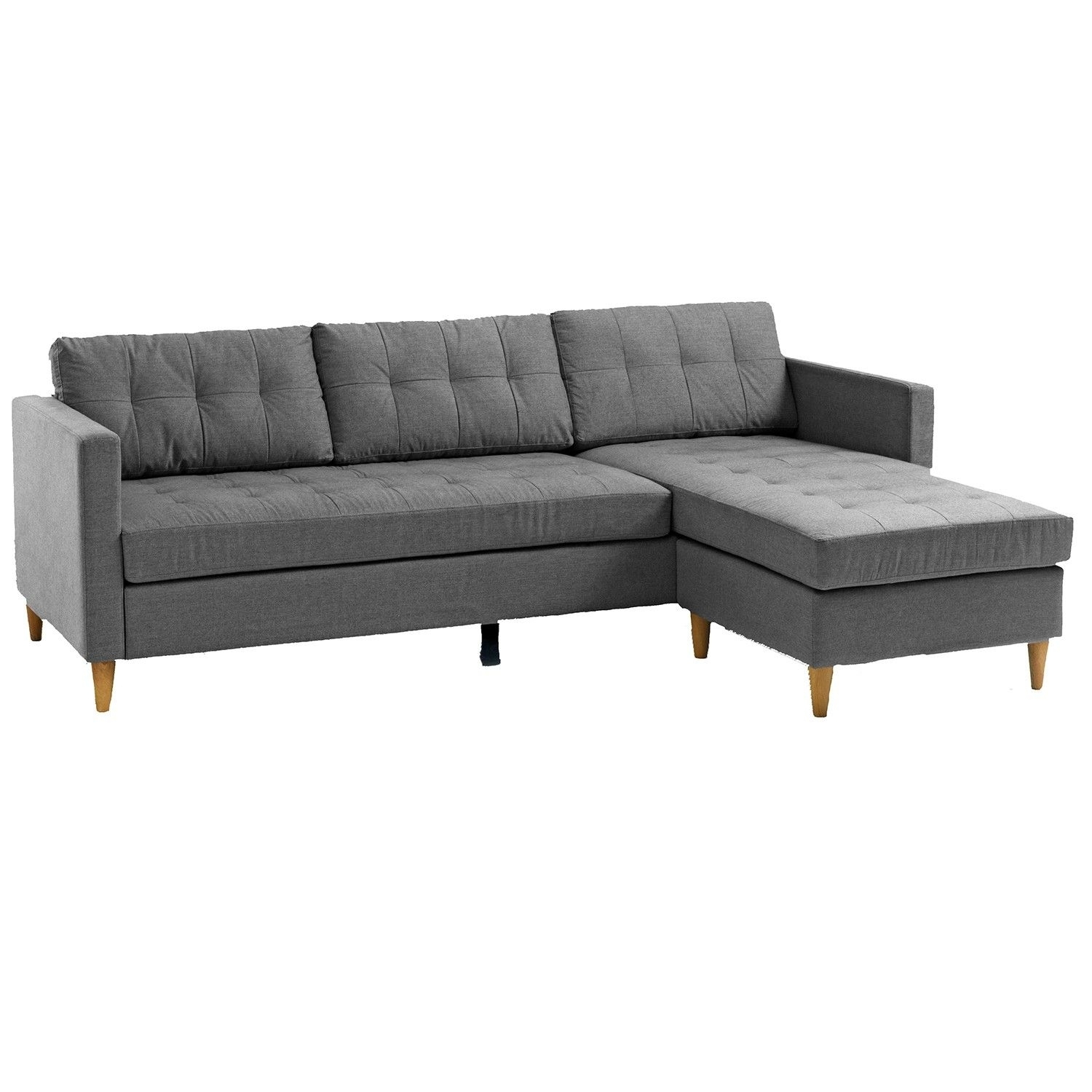 Falslev Sectional Sofa With Chaise (Grey) | Apartments, Living Rooms pertaining to Jysk Sectional Sofas (Image 6 of 10)