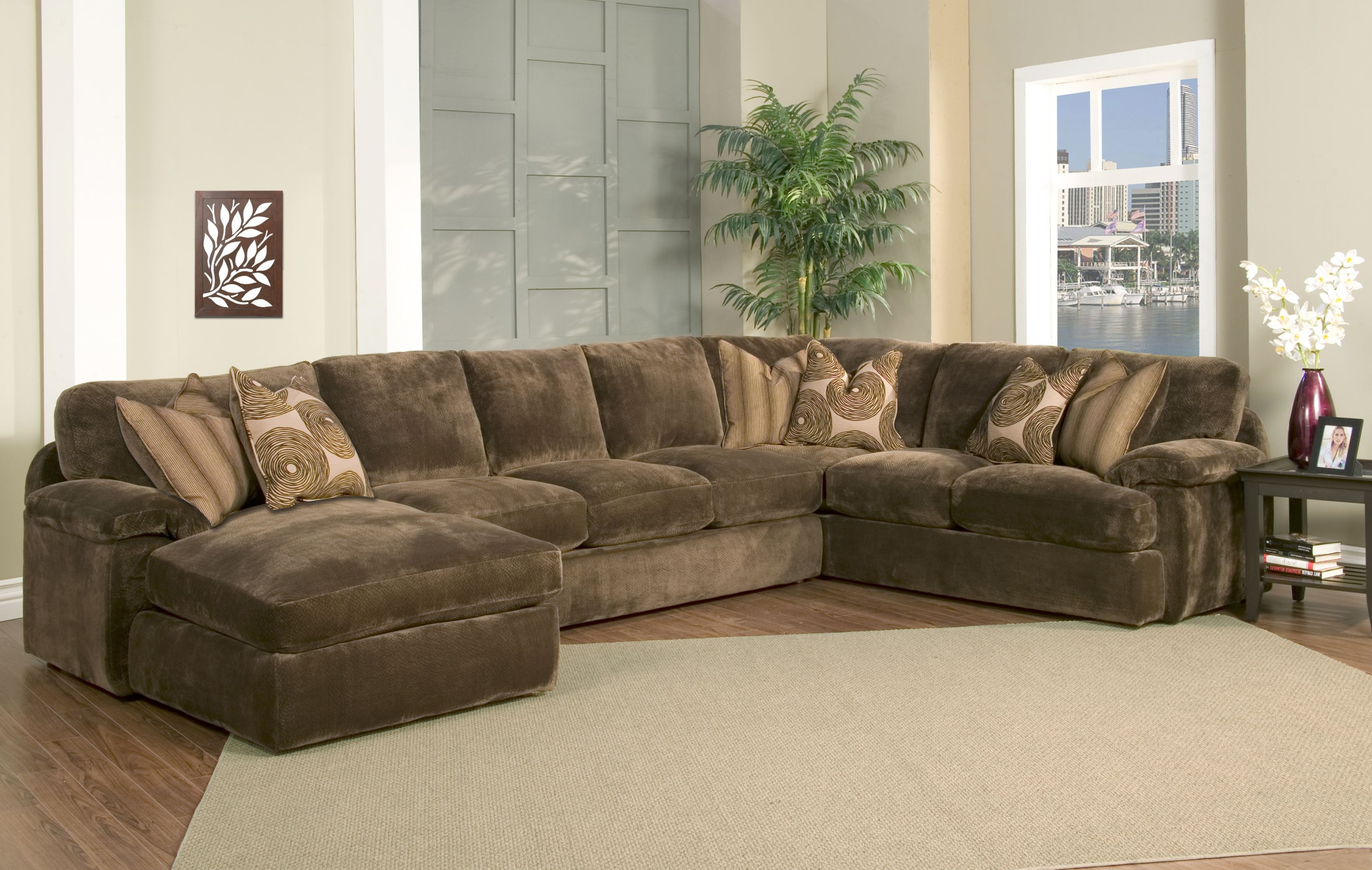 Feather Filled Cushions | Robert Michaels Sofa | Robert Michaels Within Down Filled Sofas (View 7 of 10)