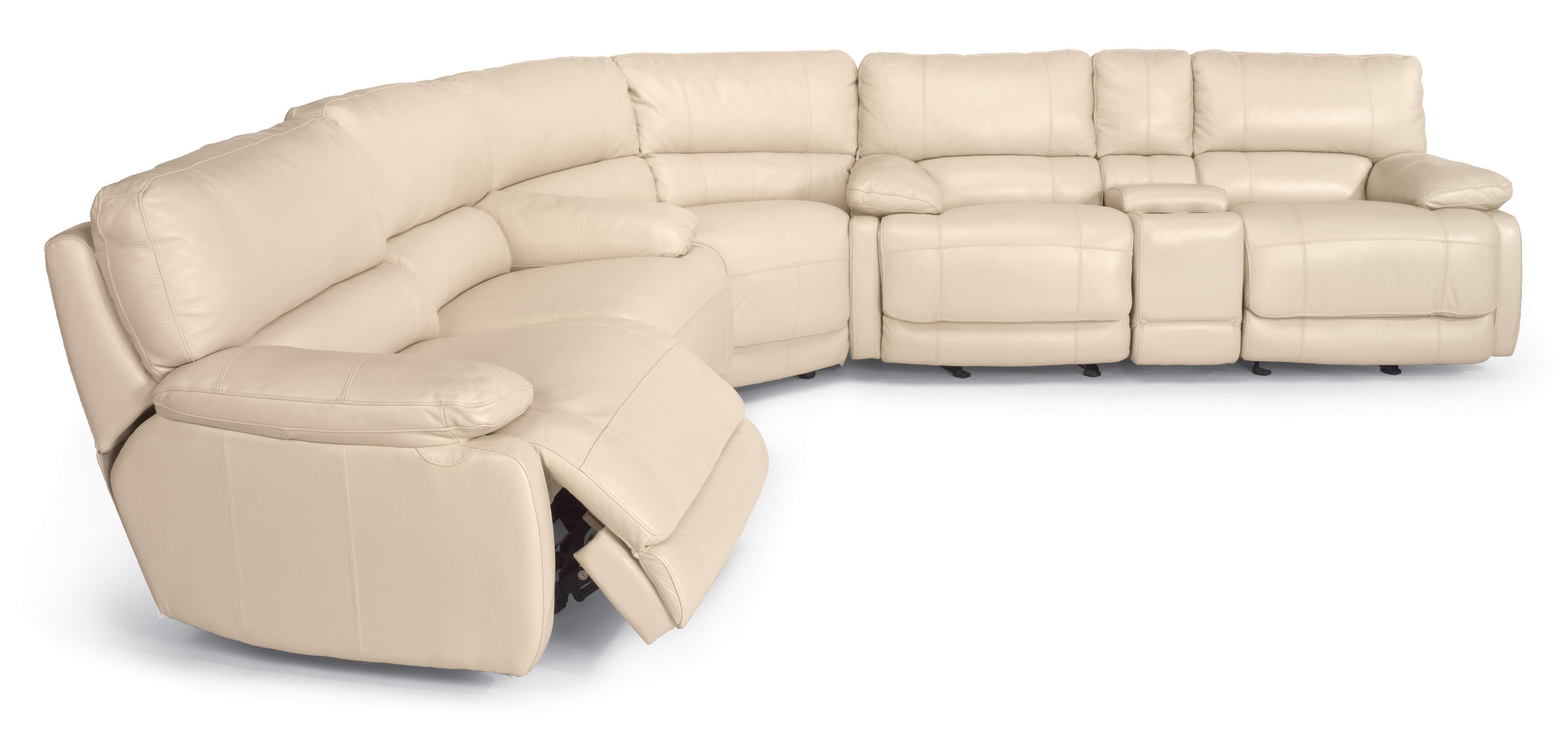 Flexsteel Latitudes – Hermosa Reclining Sectional Sofa – Ahfa In Kansas City Mo Sectional Sofas (View 7 of 10)