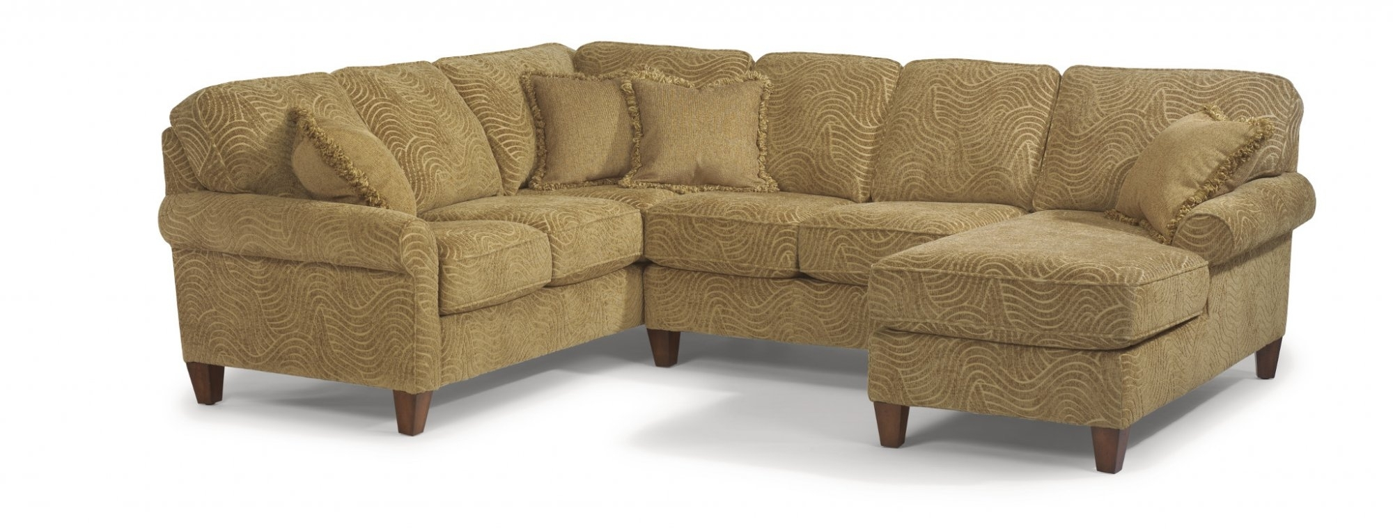 Flexsteel – Westside Sectional – Harris Family Furniture For Sectional Sofas At Bad Boy (View 11 of 15)