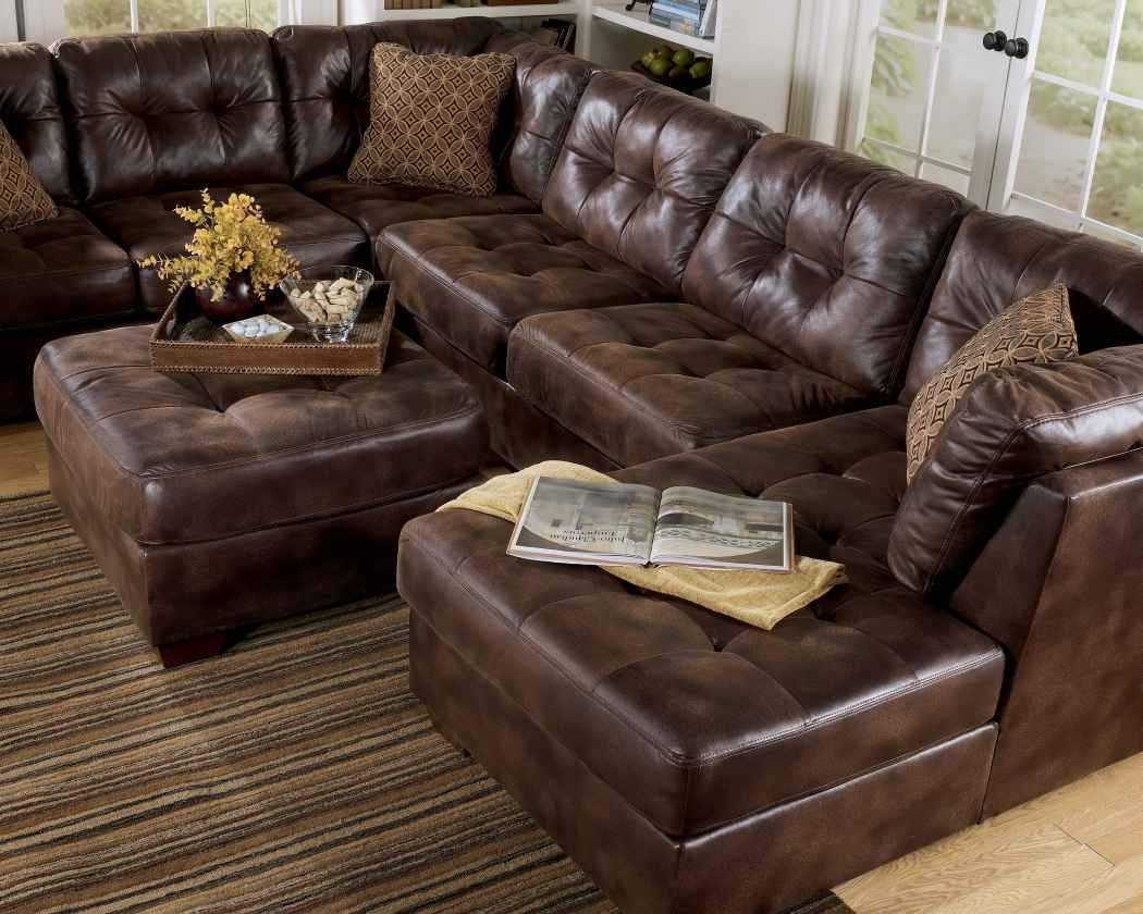 Frontier - Canyon Faux Leather Sectional | Wholesale Furniture intended for Sectional Sofas At Chicago (Image 6 of 15)