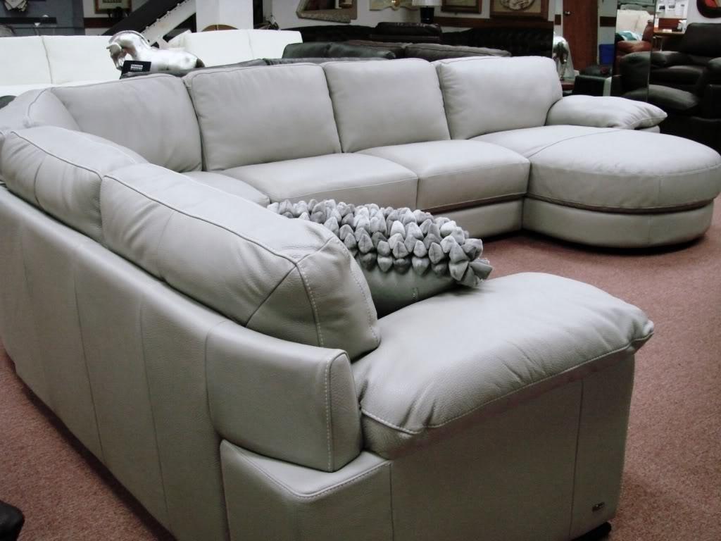 Furniture: B814 Modular Leather Sectional Natuzzi Editions Puritan Throughout Natuzzi Sectional Sofas (View 9 of 10)