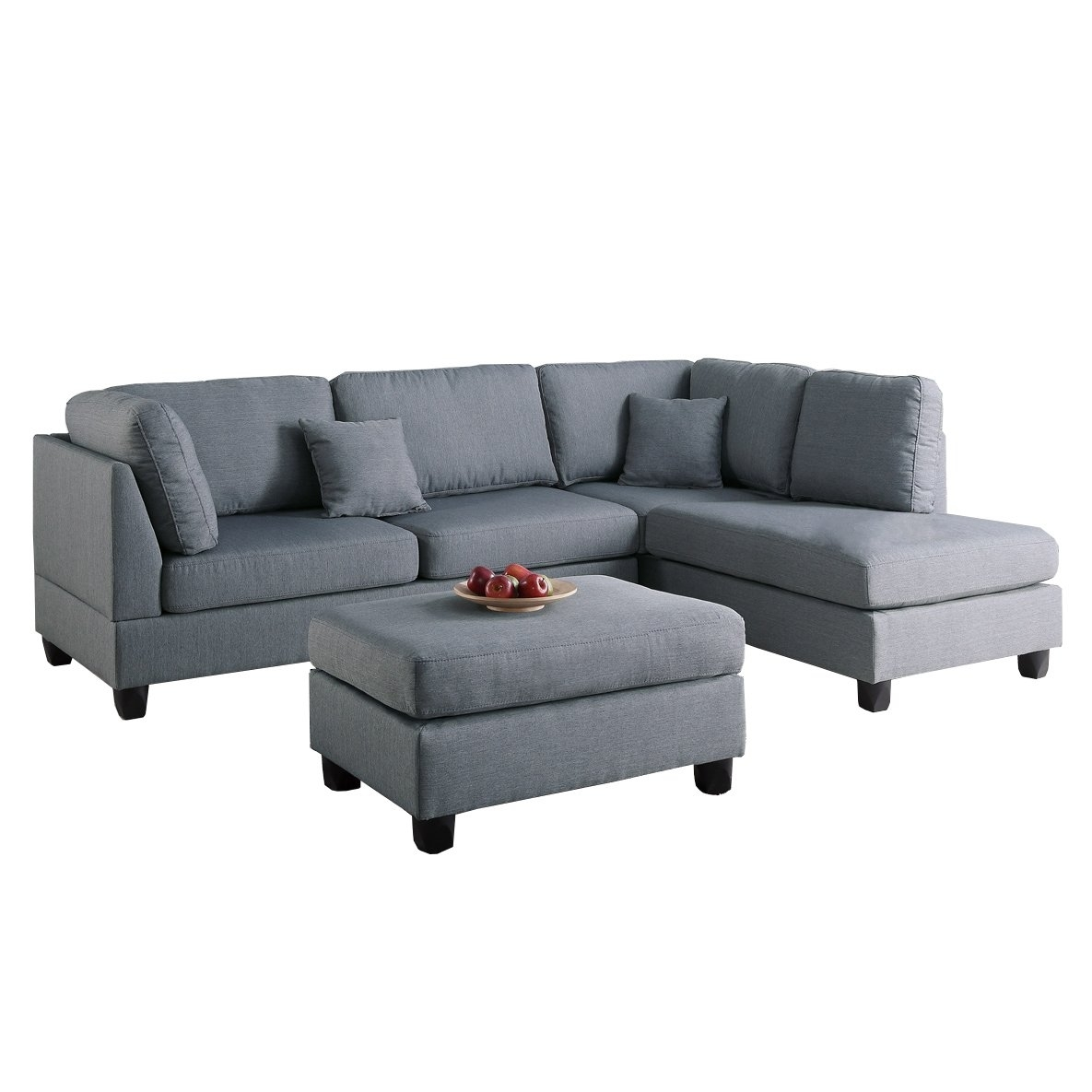 Furniture: Changeable Sofa | Walmart Sectional Sofa | Reversible With Sectional Sofas At Walmart (View 5 of 15)