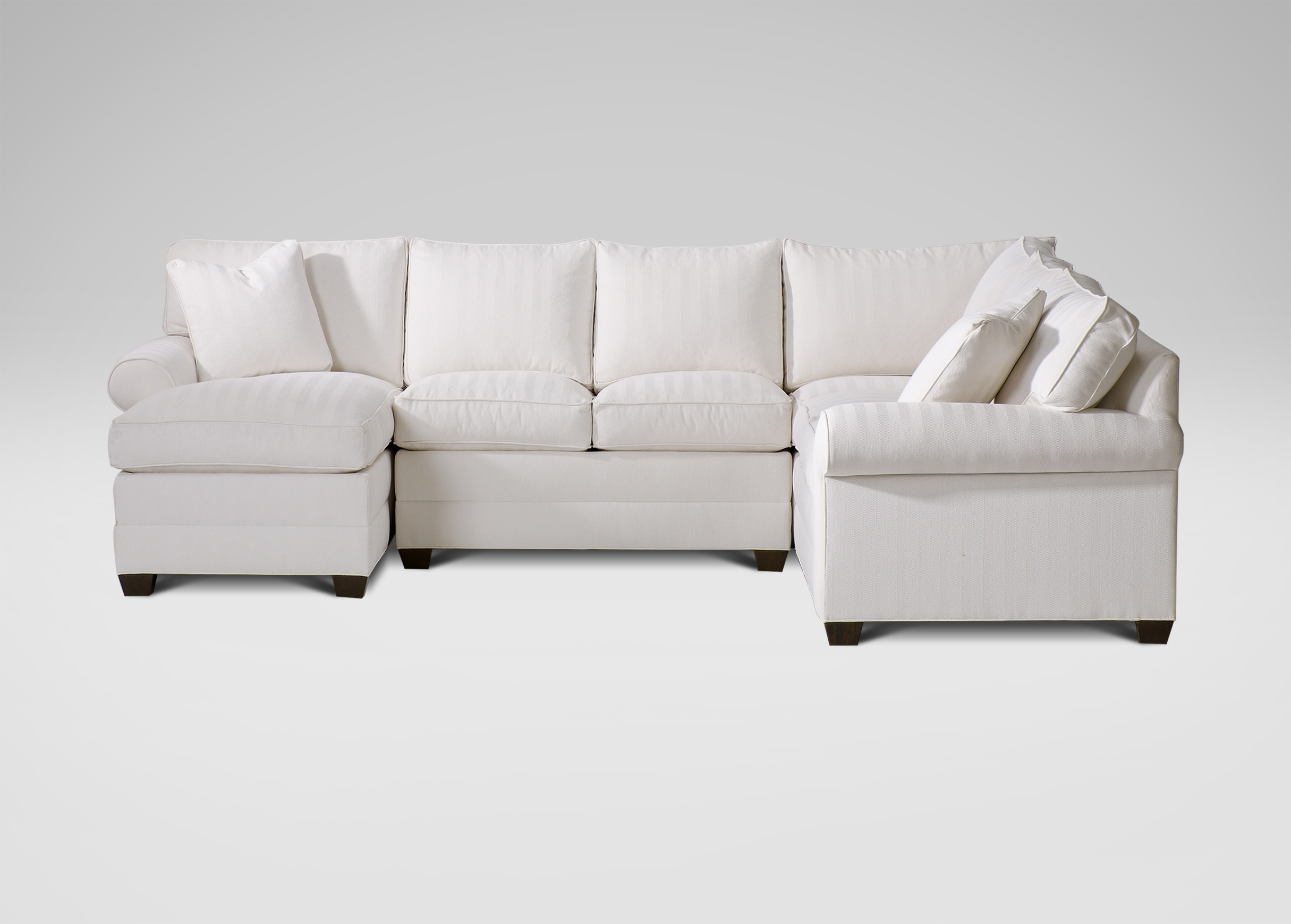 Furniture: Ethan Allen Sectional Sofas Bennett Sofa Reviews regarding Sectional Sofas At Ethan Allen (Image 6 of 10)
