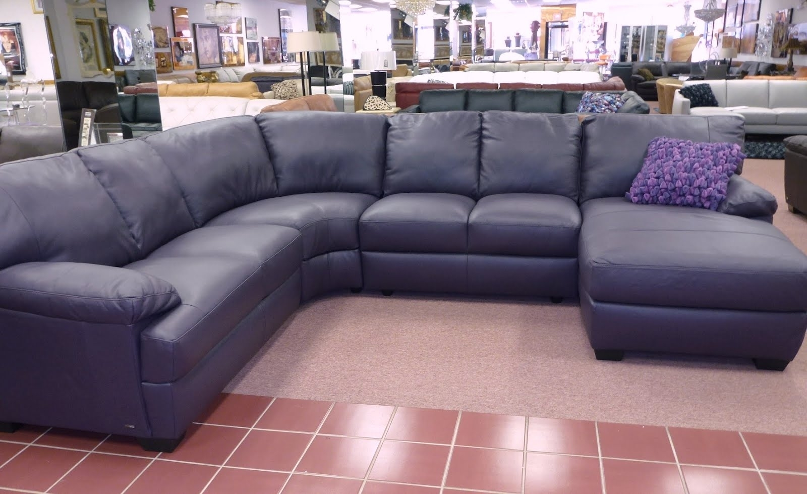 Furniture : Recliner 3 Seater Leather Sofas Corner Couch Decor for 96X96 Sectional Sofas (Image 1 of 10)