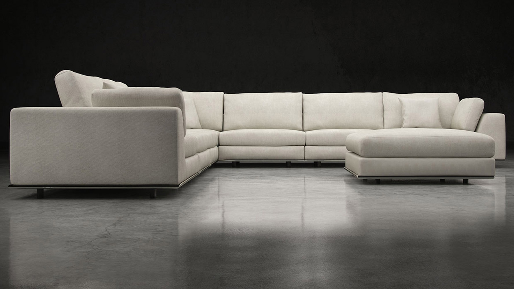Furniture : Russian Hill Apartment Deep Seat Small Sectional Sofa within Kijiji Montreal Sectional Sofas (Image 5 of 10)