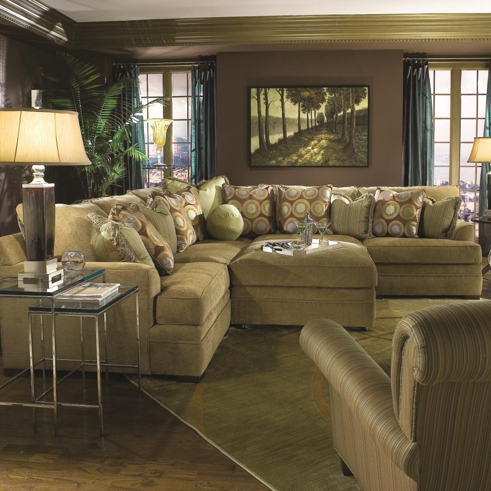 Furniture : Sectional With Chaise Oversized Sectionals Large Sofas Intended For Sectionals With Oversized Ottoman (View 1 of 15)