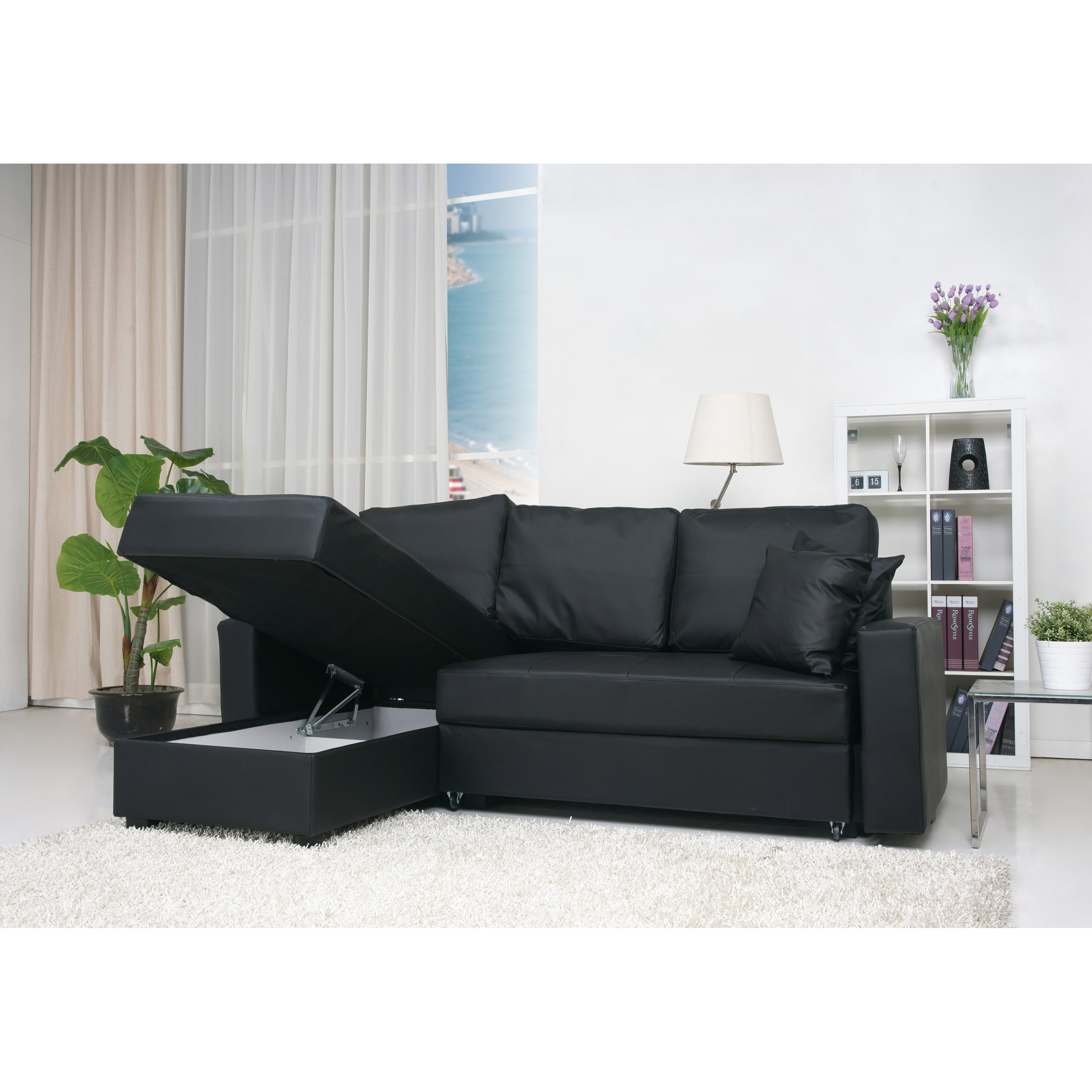 Furniture & Sofa: Compact Sectional Sofas | Small Spaces Throughout Sectional Sofas At Ebay (View 3 of 10)