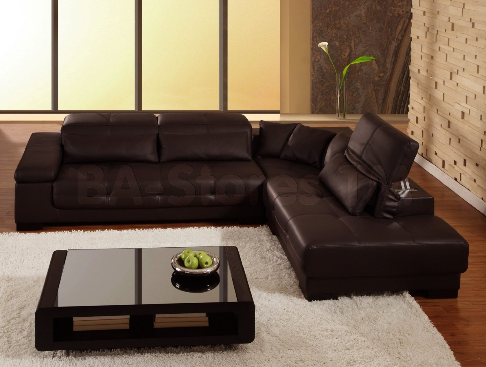 Glamorous Brown Leather Sectional Sofa Clearance 15 For Sectional regarding Clearance Sectional Sofas (Image 11 of 15)
