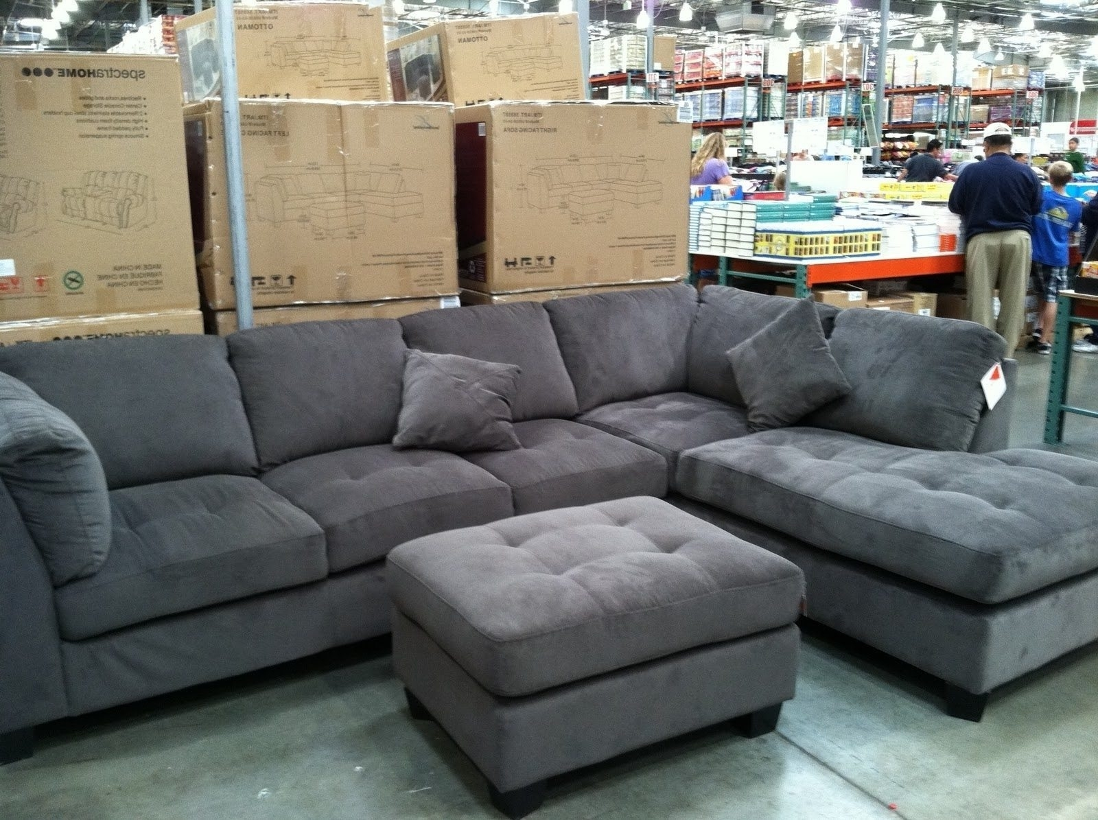 Gray Sectional Sofa Costco – Hotelsbacau For Sectional Sofas At Costco (View 8 of 15)