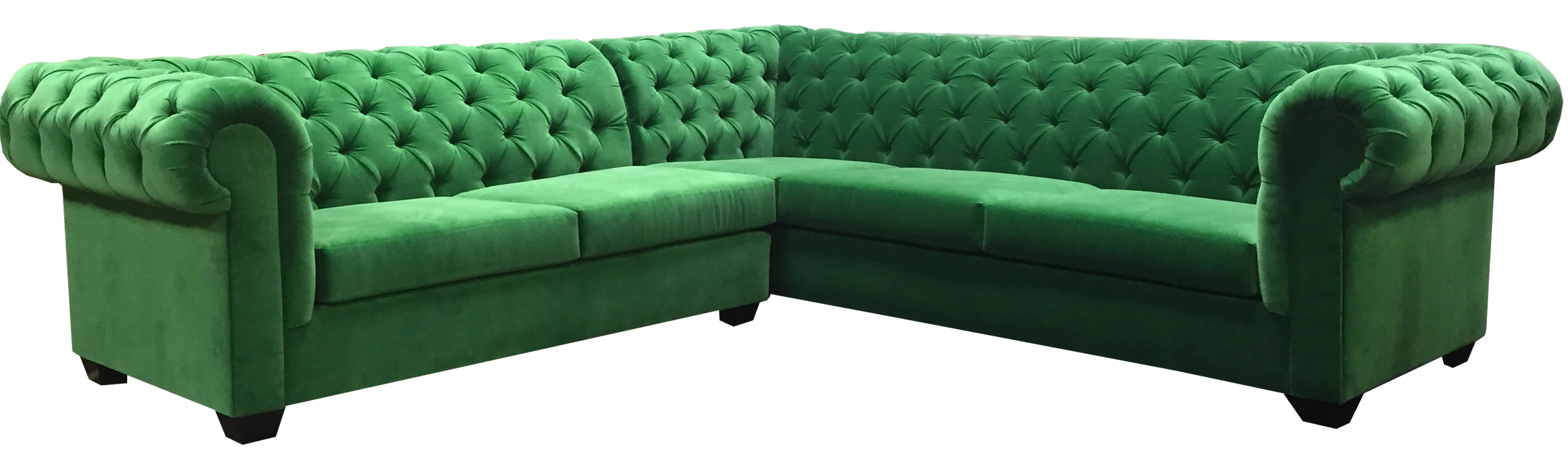 Green Sectional Sofa Mint Hunter Olive Stock Photos Hd | Paramountsmart Regarding Green Sectional Sofas (View 8 of 10)
