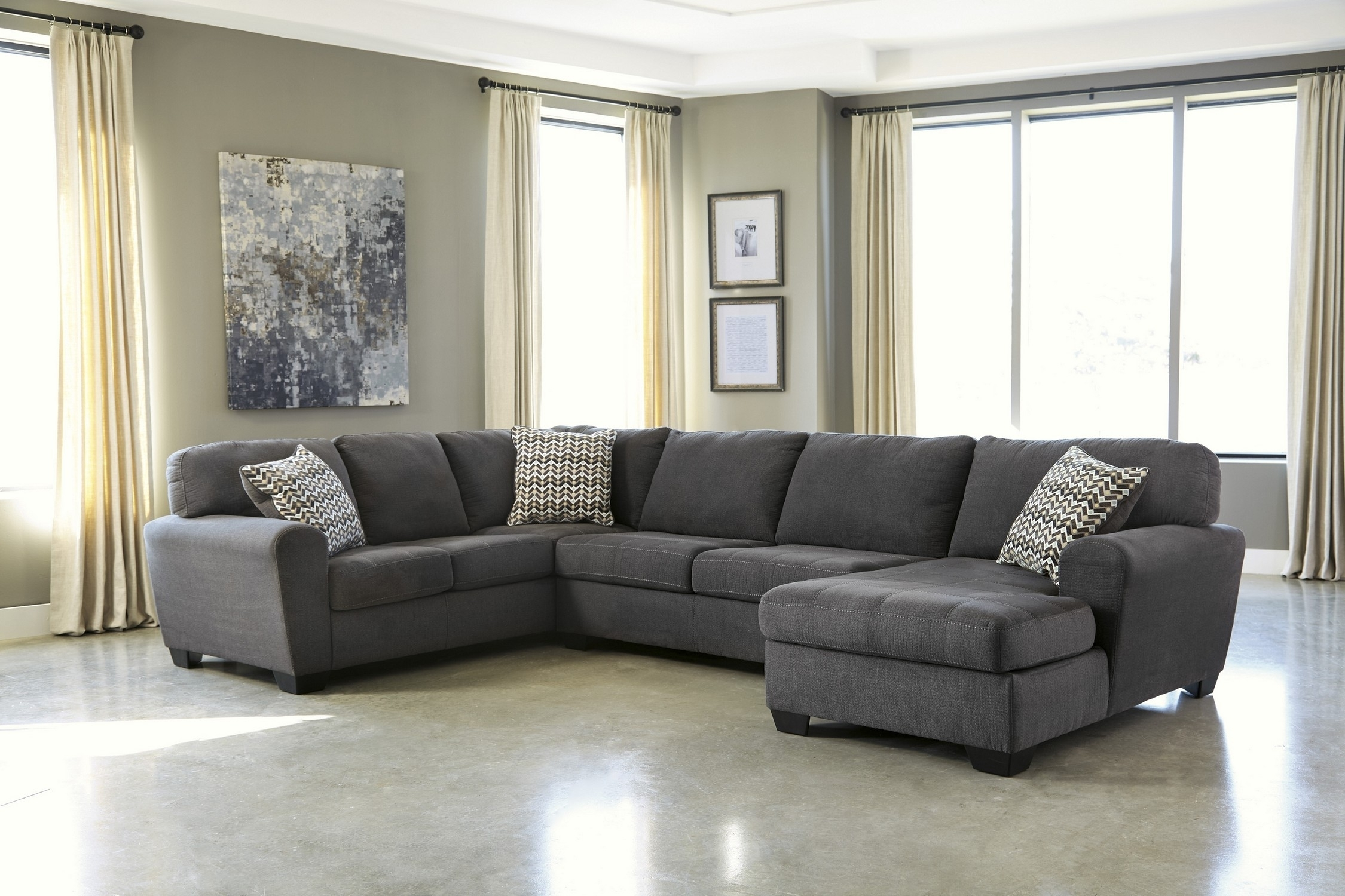 Grey Sectional Sofa Under 1000 • Sectional Sofa Within Sectional Sofas Under 1500 (Photo 8 of 10)