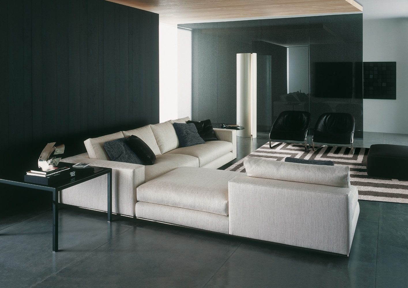 Hamilton Sofa | Designedrodolfo Dordoni, Minotti, Orange Skin throughout Hamilton Sectional Sofas (Image 5 of 10)