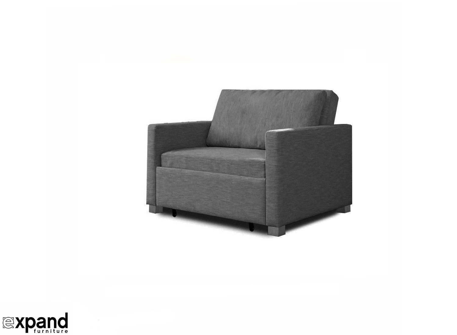 Harmony - Single Sofa Bed With Memory Foam | Expand Furniture in Single Sofas (Image 3 of 10)