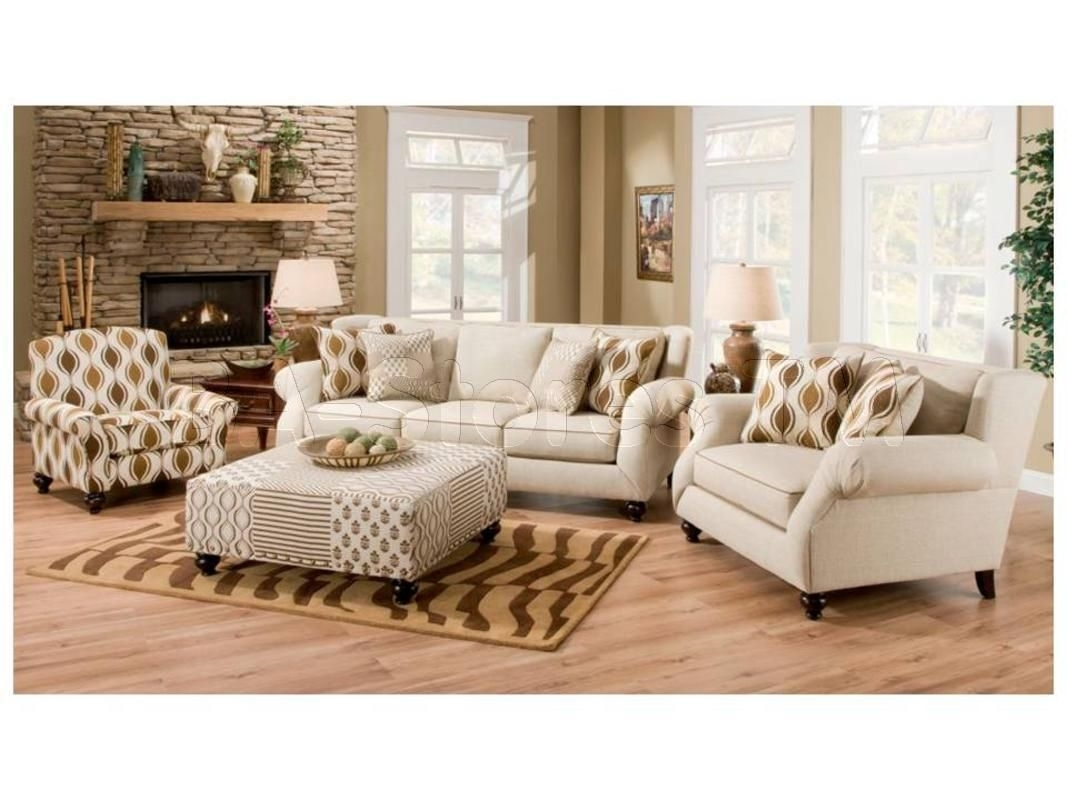 Hazel Simply Linen 4 Pc Sofa Set (Sofa, Chair, Accent Chair And In Sofa And Accent Chair Sets (View 7 of 10)