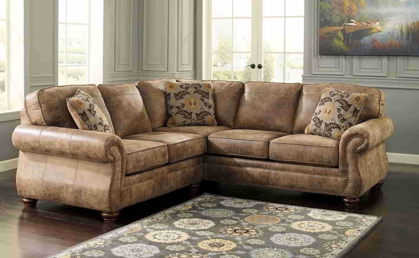 High Back Leather Sectional Sofas • Leather Sofa Regarding Sectional Sofas With High Backs (View 3 of 10)