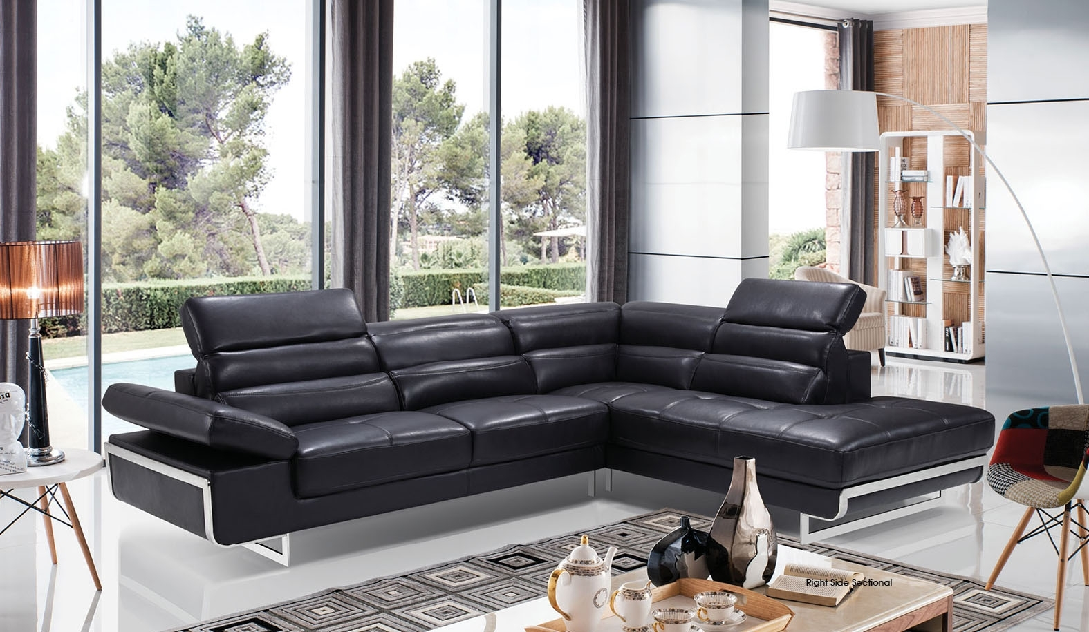 High-Class Italian Leather Living Room Furniture Jacksonville inside Jacksonville Florida Sectional Sofas (Image 4 of 10)