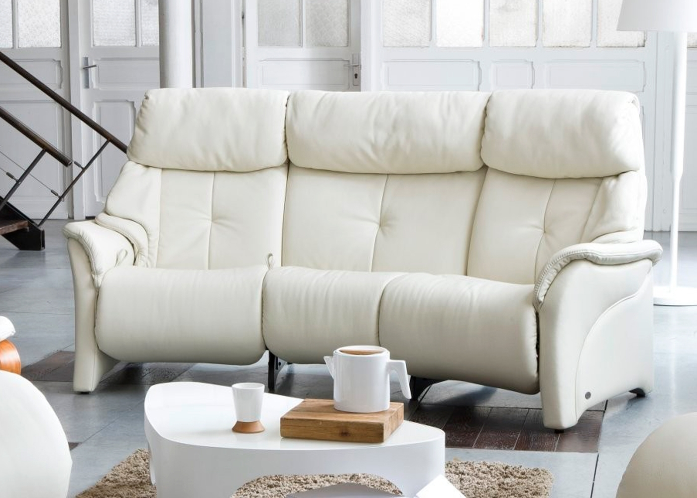 Himolla Chester 3 Seater Curved Recliner | Midfurn Furniture Superstore Inside Curved Recliner Sofas (View 1 of 10)