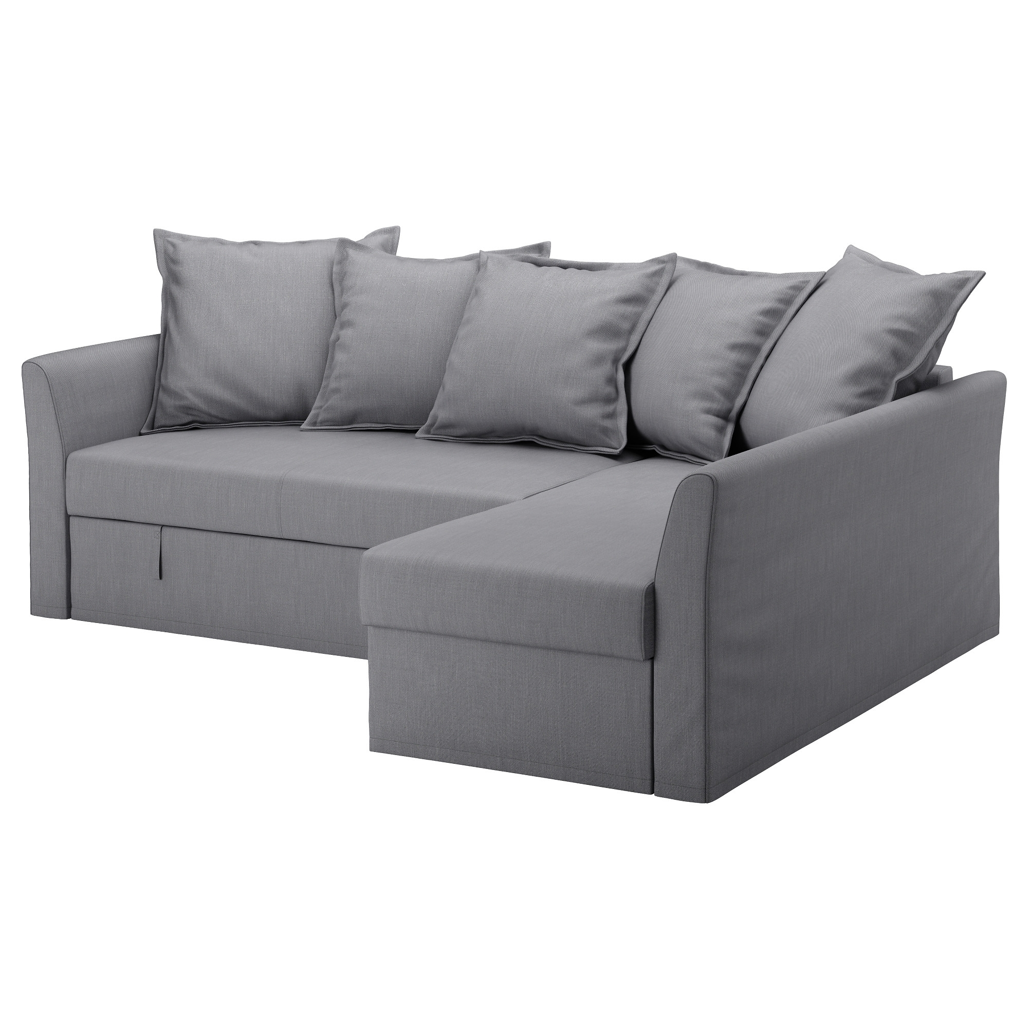 Holmsund Corner Sofa-Bed - Nordvalla Beige - Ikea for Ikea Corner Sofas With Storage (Image 9 of 10)