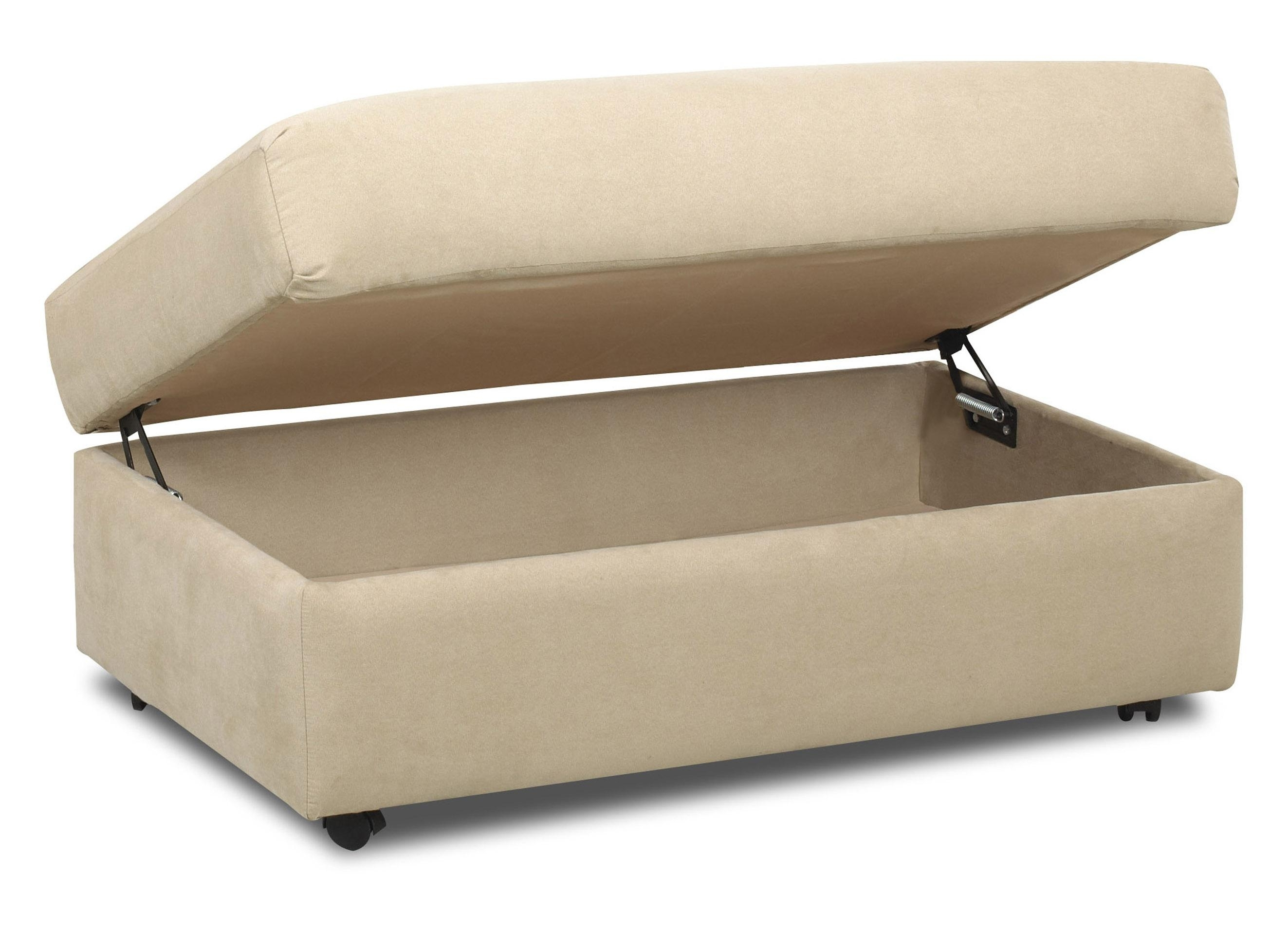 Home Design : Furniture. Rectangle Beige Storage Ottoman With Small with Ottomans With Wheels (Image 7 of 15)