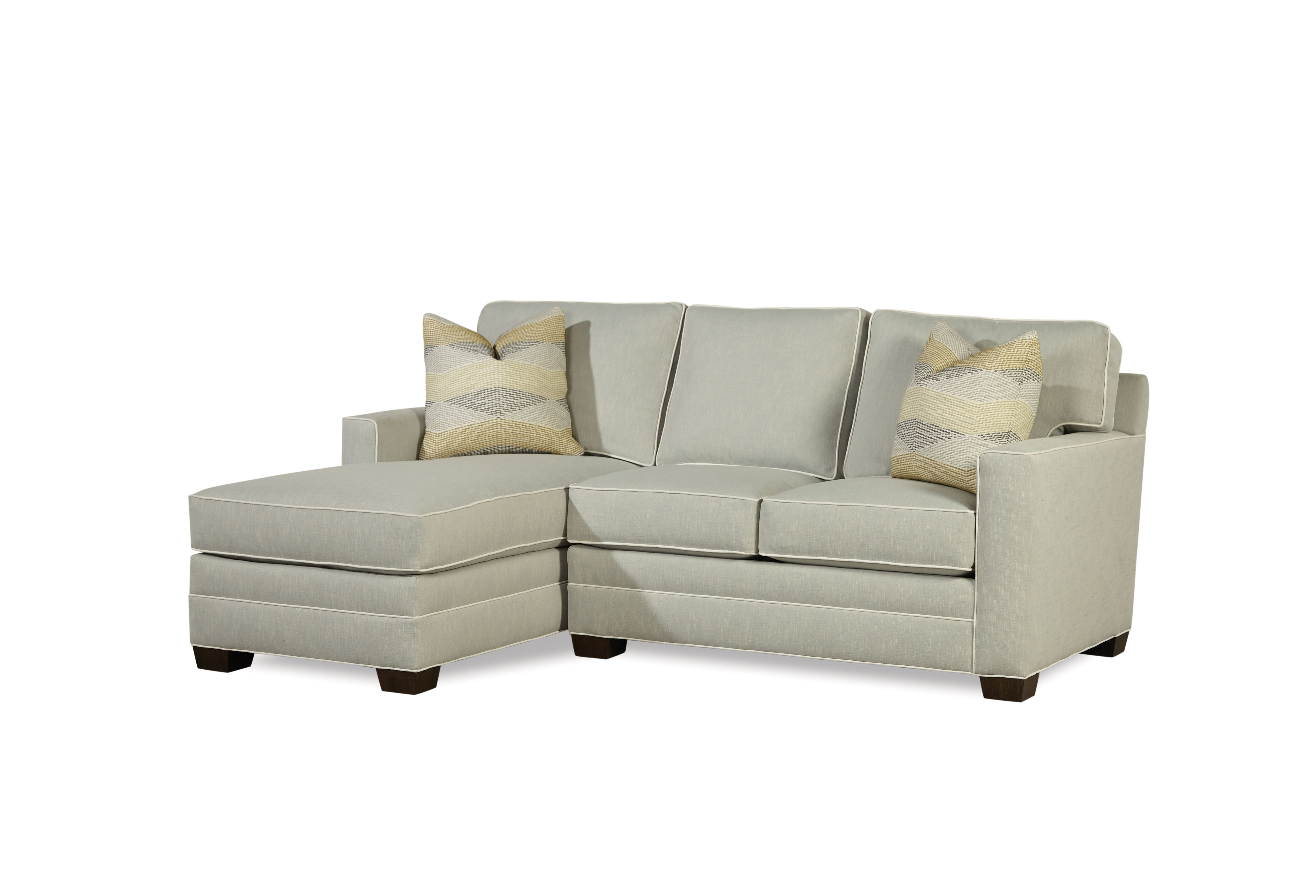 Huntington House 2053 Sectional Shown In Crypton Home Fabric In Sectional Sofas At Birmingham Al (View 4 of 15)