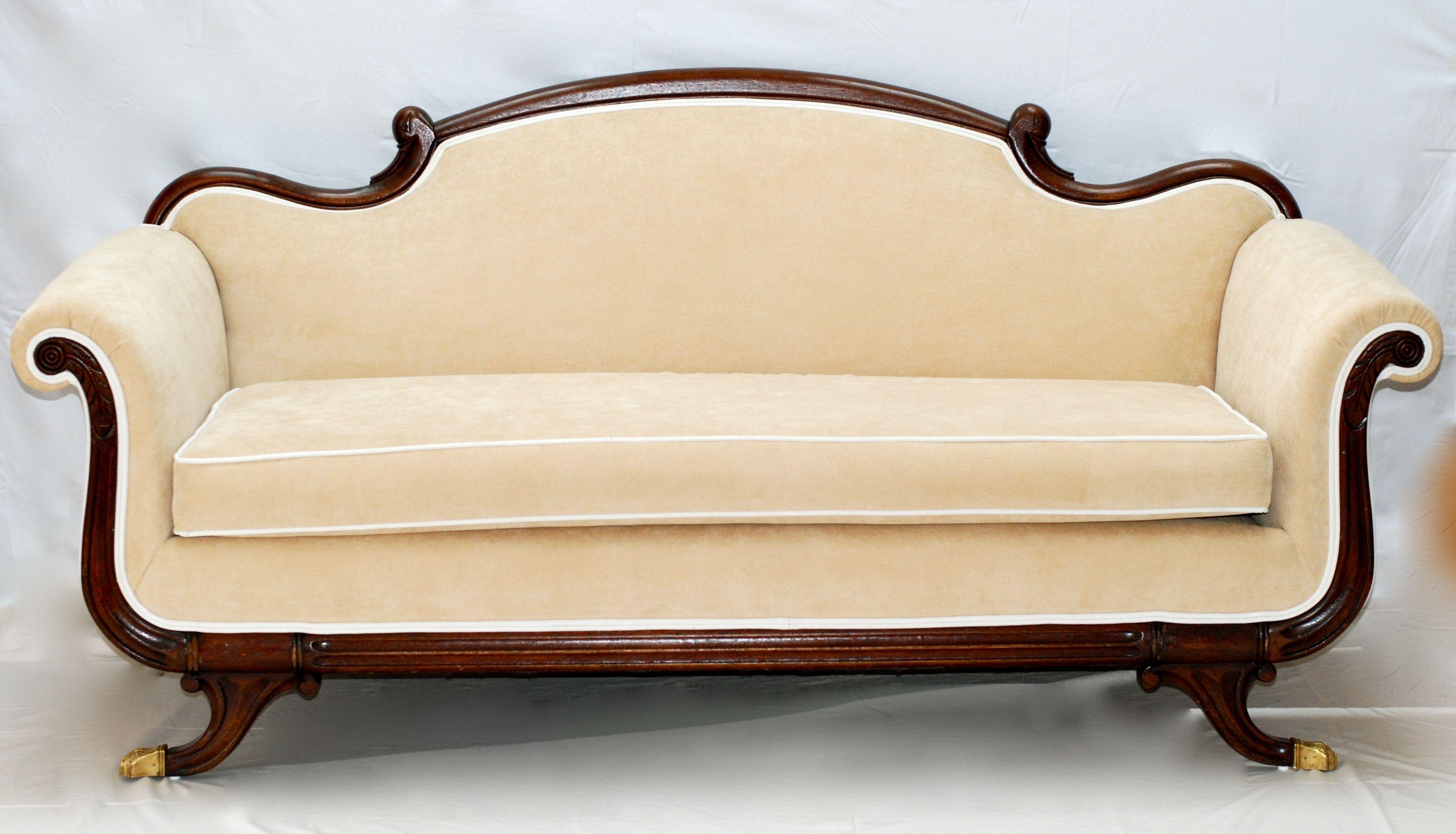 Image Result For Antique Sofa Reupholstered | Antique Sofa intended for Antique Sofas (Image 8 of 10)