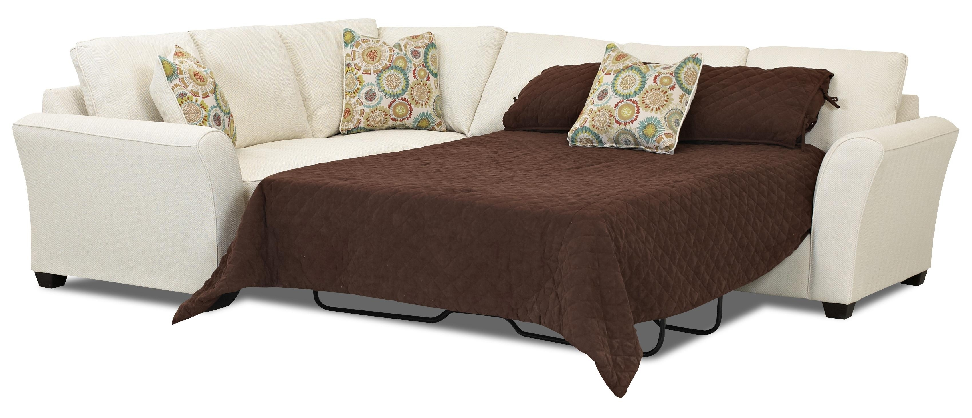 Popular Photo of Sectional Sofas With Queen Size Sleeper