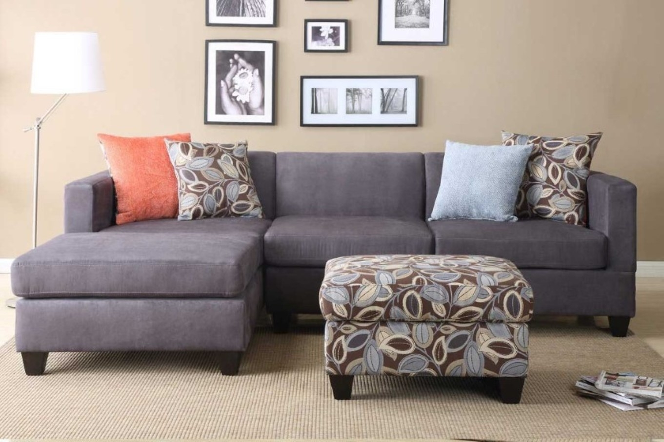 Incredible Microfiber Sleeper Sofa Top Home Design Ideas With Grey inside 3 Piece Sectional Sleeper Sofas (Image 6 of 10)