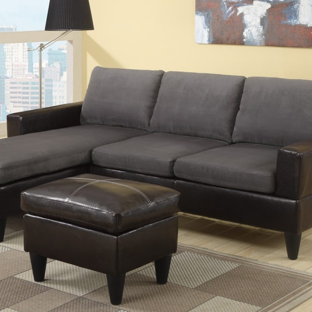 Incredible The Brick Leather Sectional - Buildsimplehome throughout The Brick Sectional Sofas (Image 5 of 10)