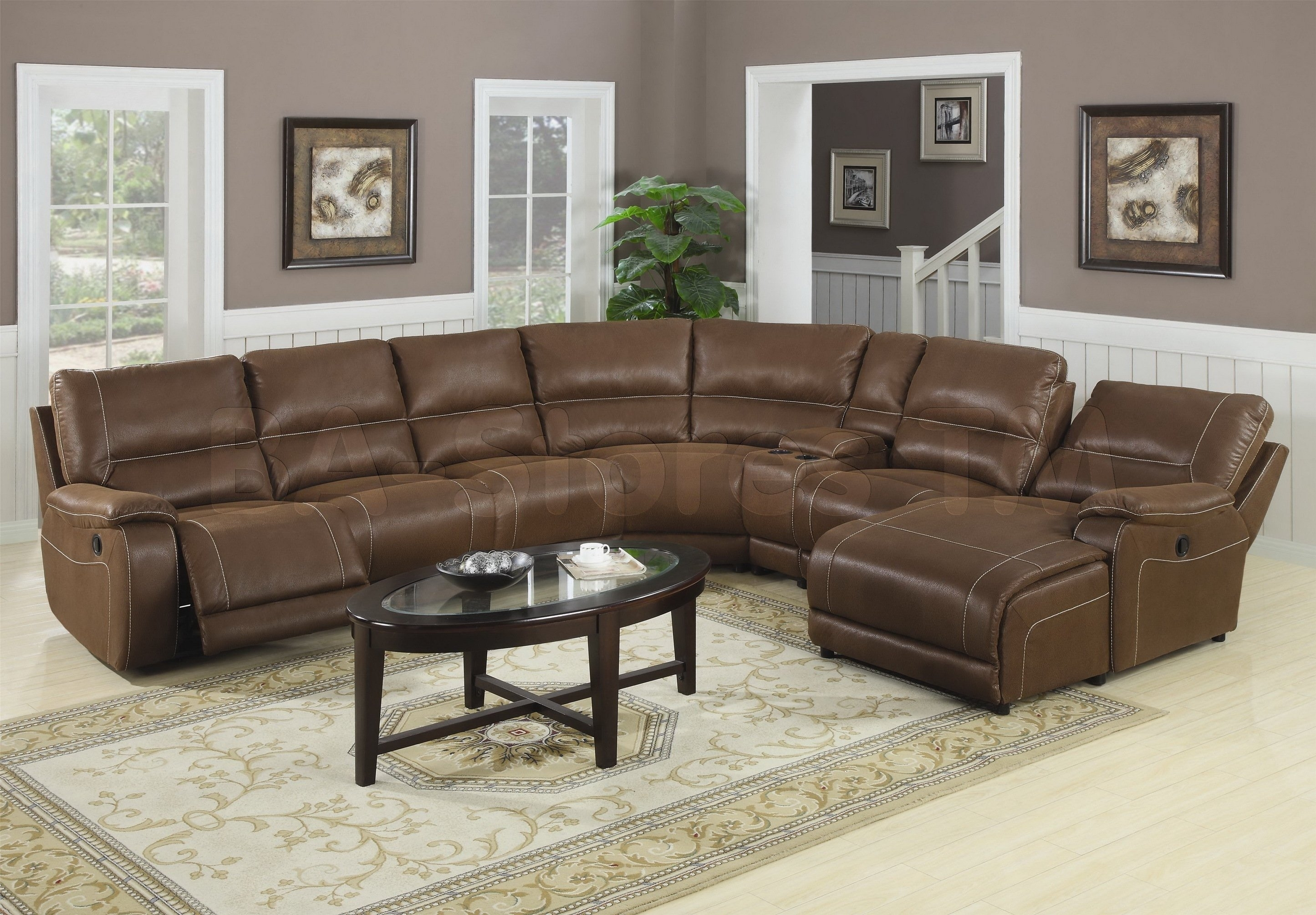 Interior Luxury Oversized Sectional Sofa For Awesome Living Room with Large Sectional Sofas (Image 7 of 10)