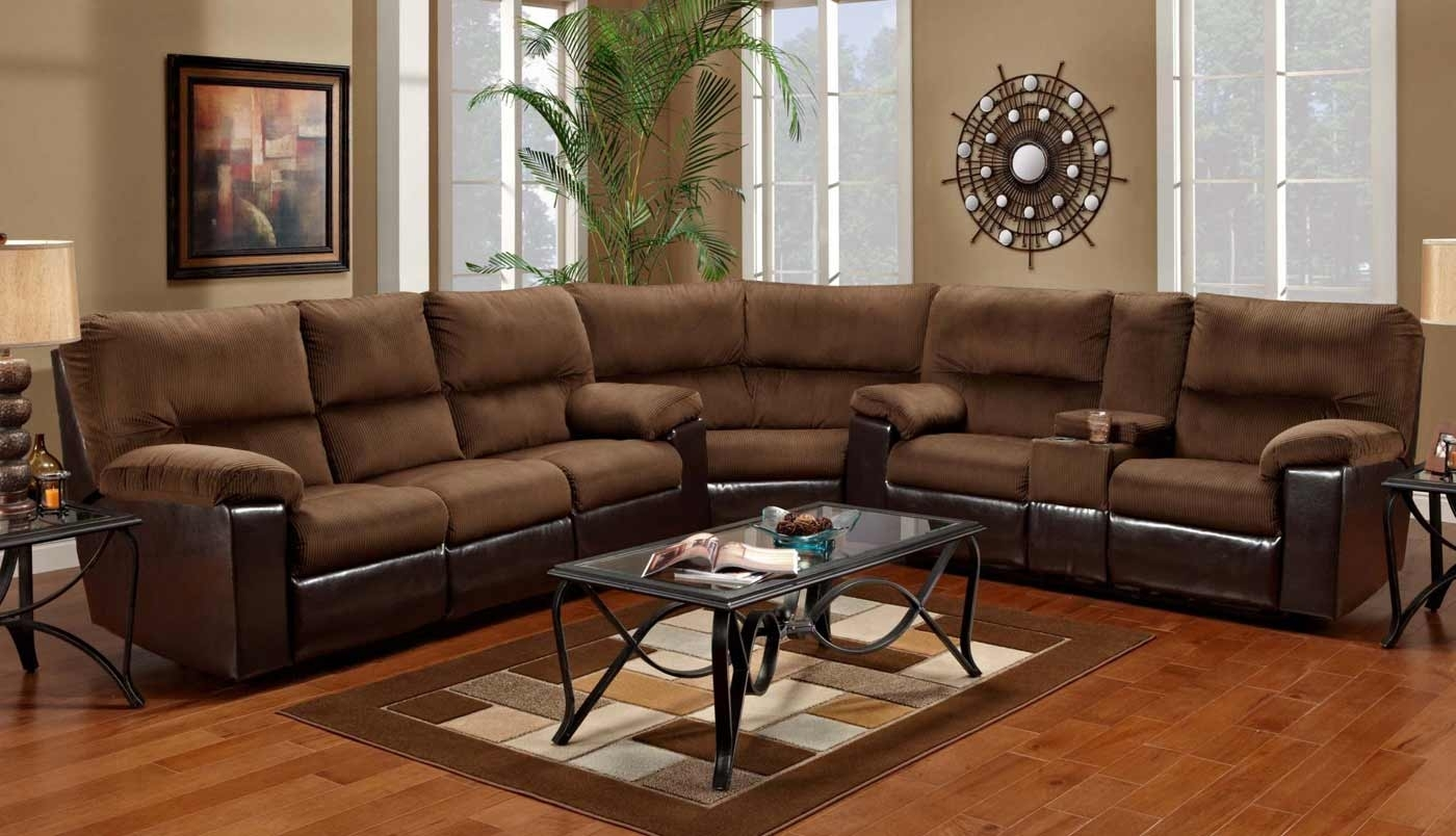 Italian Brown Leather Sectional With Chaise With Sectional Sofas regarding On Sale Sectional Sofas (Image 3 of 10)