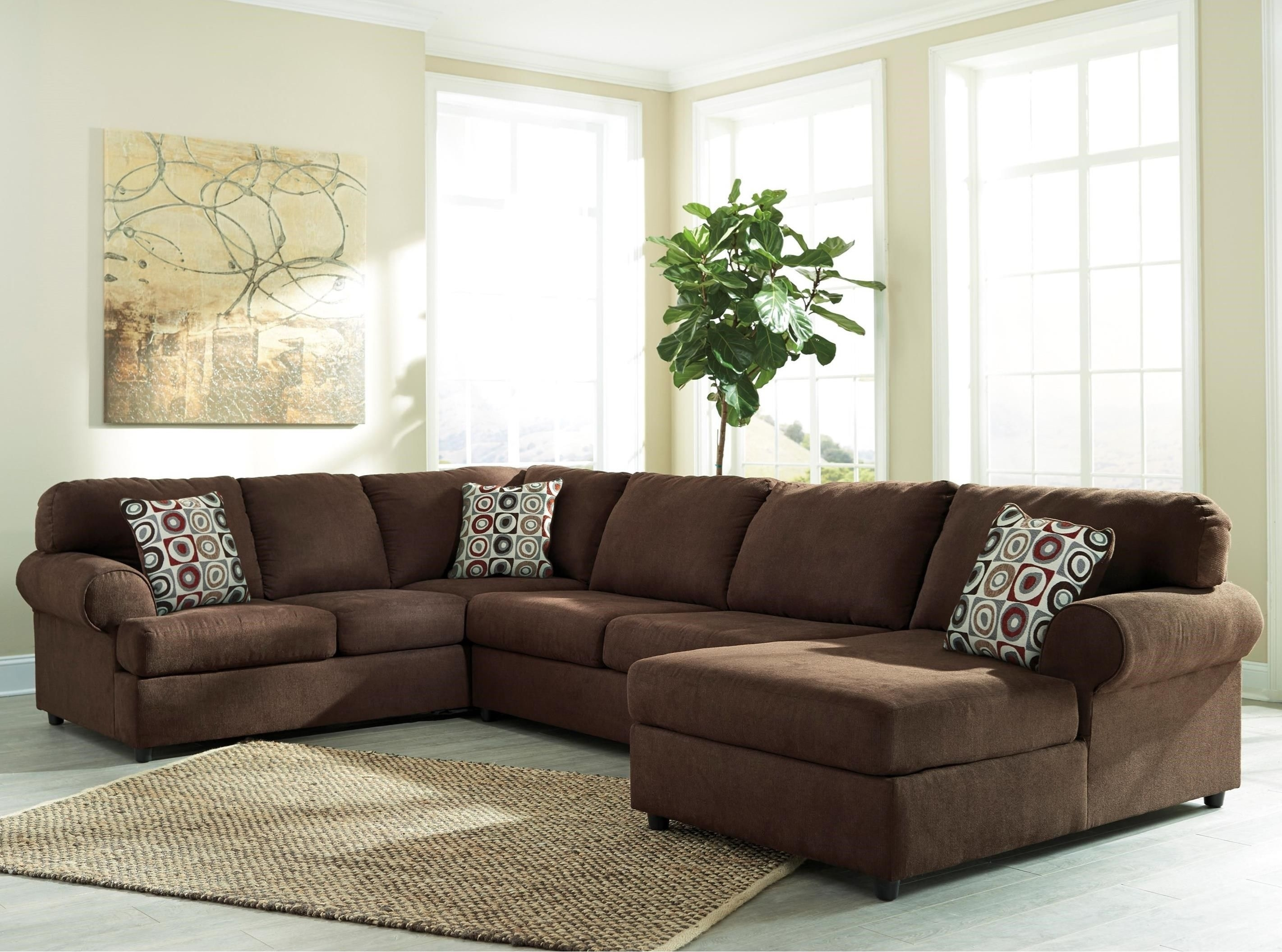 Jayceon 3-Piece Sectional With Chaisesignature Designashley in Royal Furniture Sectional Sofas (Image 6 of 10)