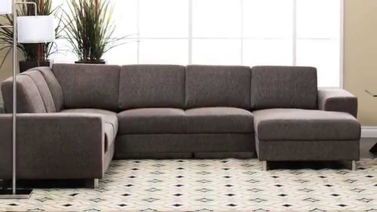 Jerome's Furniture - Elena Sectional - Youtube within Jerome's Sectional Sofas (Image 2 of 10)
