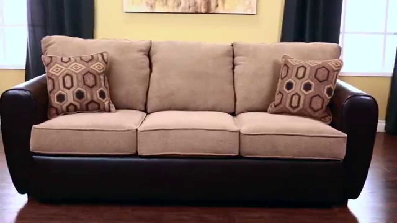 Jerome's Furniture London Sofa Sleeper - Youtube intended for Jerome's Sectional Sofas (Image 7 of 10)