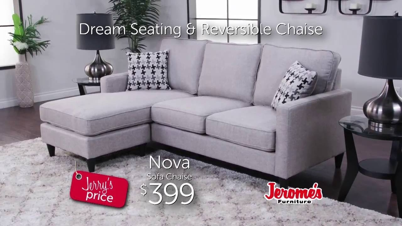 Jerome's Furniture | Nova Sectional - Youtube pertaining to Jerome's Sectional Sofas (Image 10 of 10)