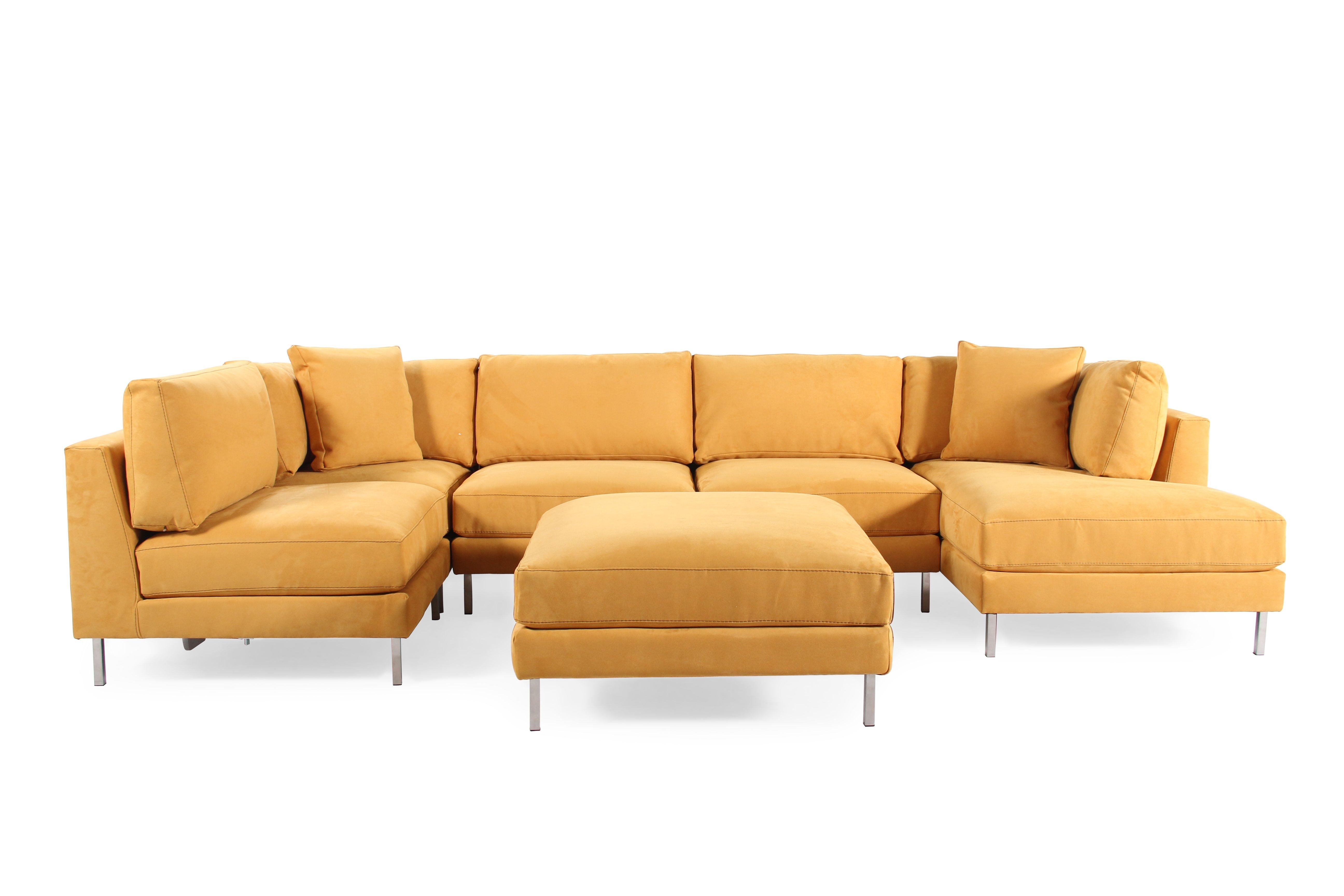 Jonathan Louis Remy Six Piece Sectional | Mathis Brothers Furniture Inside Mathis Brothers Sectional Sofas (View 3 of 10)