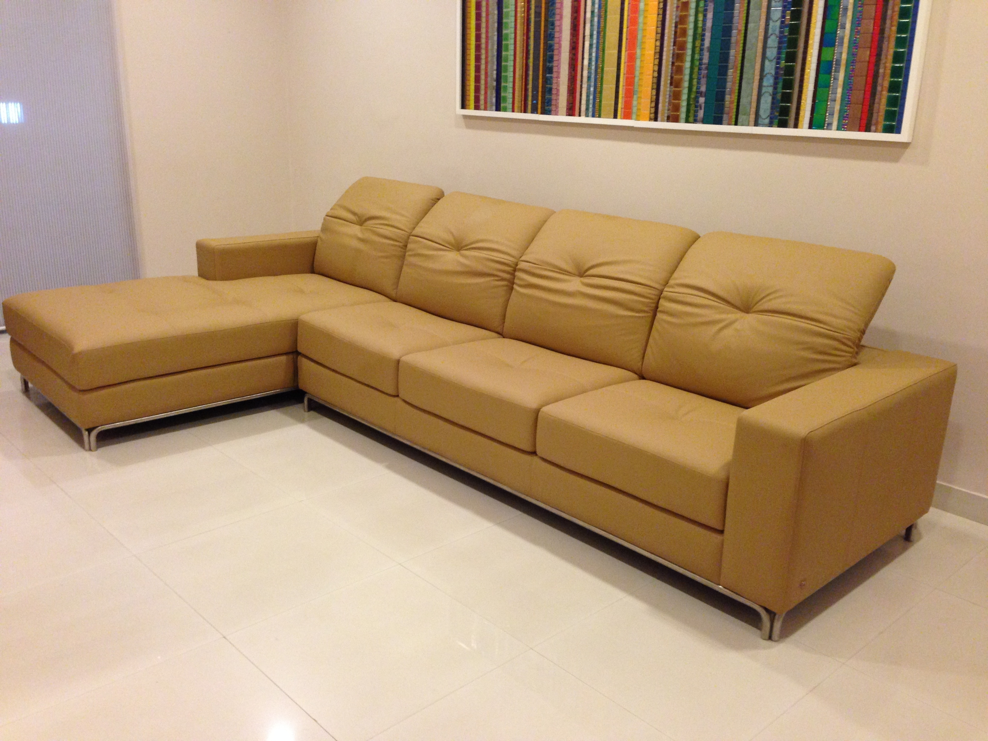 Karlsson Leather: Custom Leather Sofas, Recliners, Car Seat Covers Within Sectional Sofas At Bangalore (Photo 2 of 15)