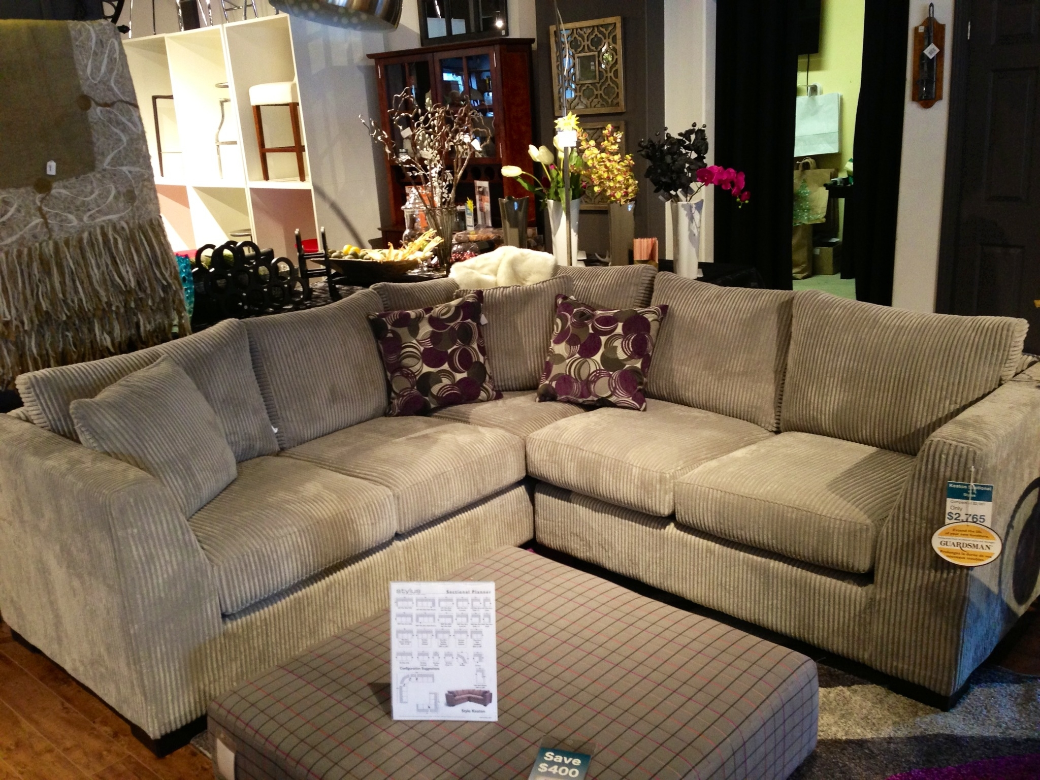 Keaton Sofa Sectionalstylus. Canadian Company Featured At In Ontario Canada Sectional Sofas (Photo 7 of 10)