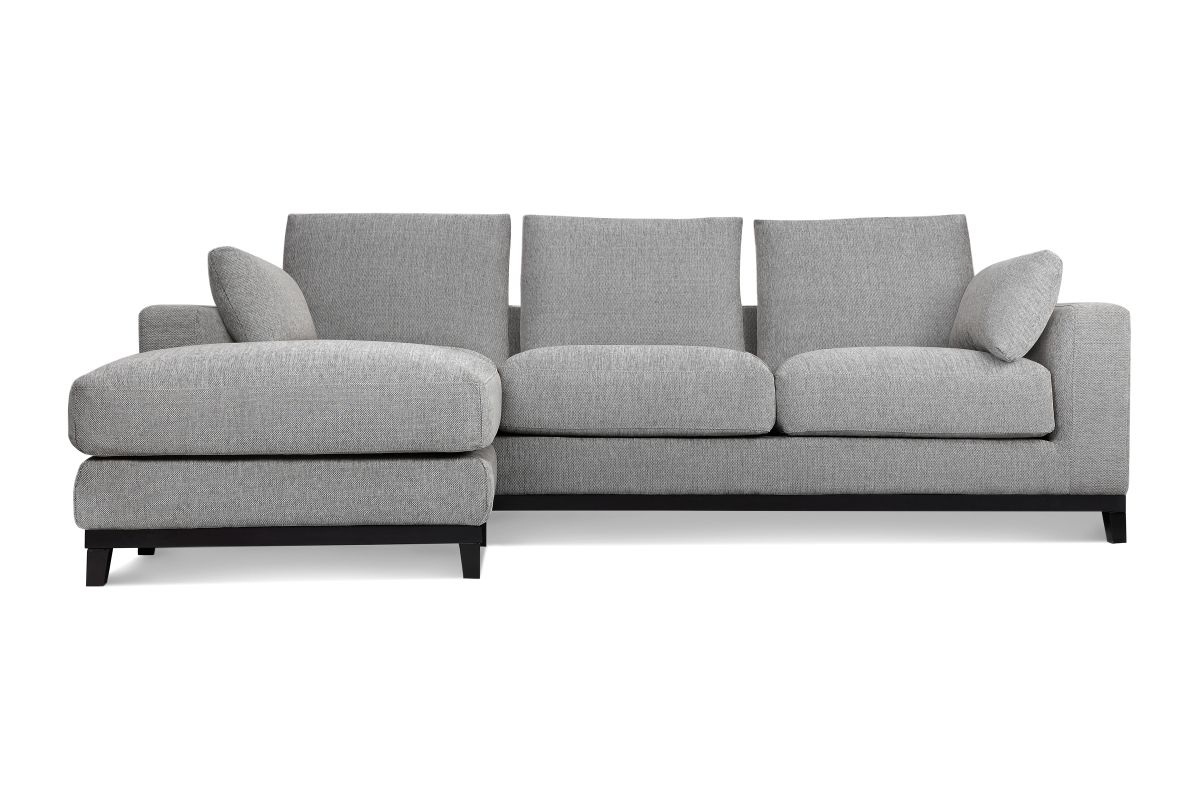 Kellan Sofa With Ottoman, Light Grey | Ottomans, Lights And Apartments For Sofas With Ottoman (Gallery 3 of 10)