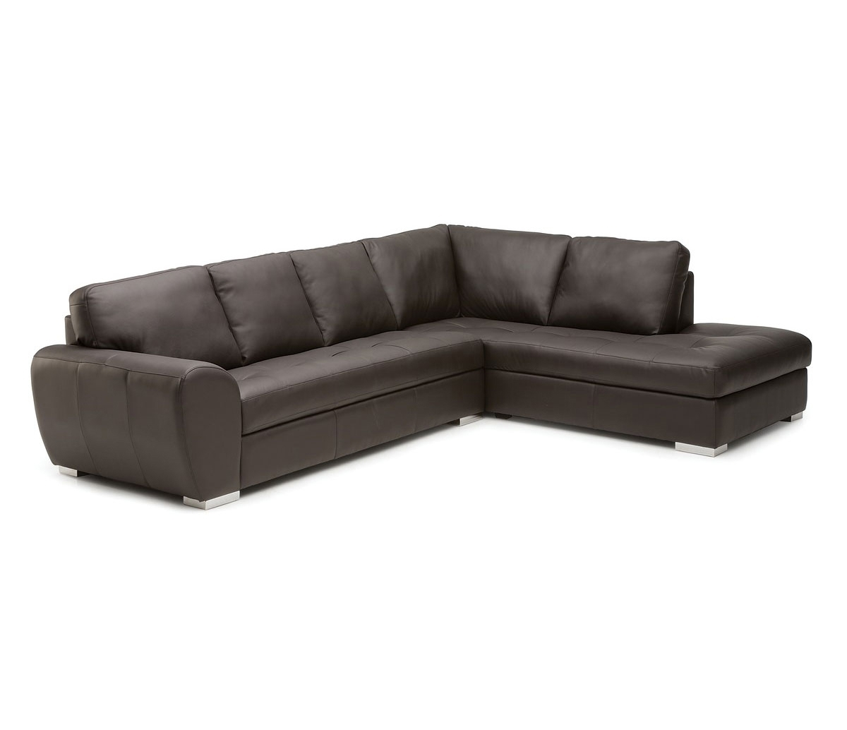 Kelowna 2 Piece Sectional – Leather – With Kelowna Bc Sectional Sofas (Gallery 8 of 10)