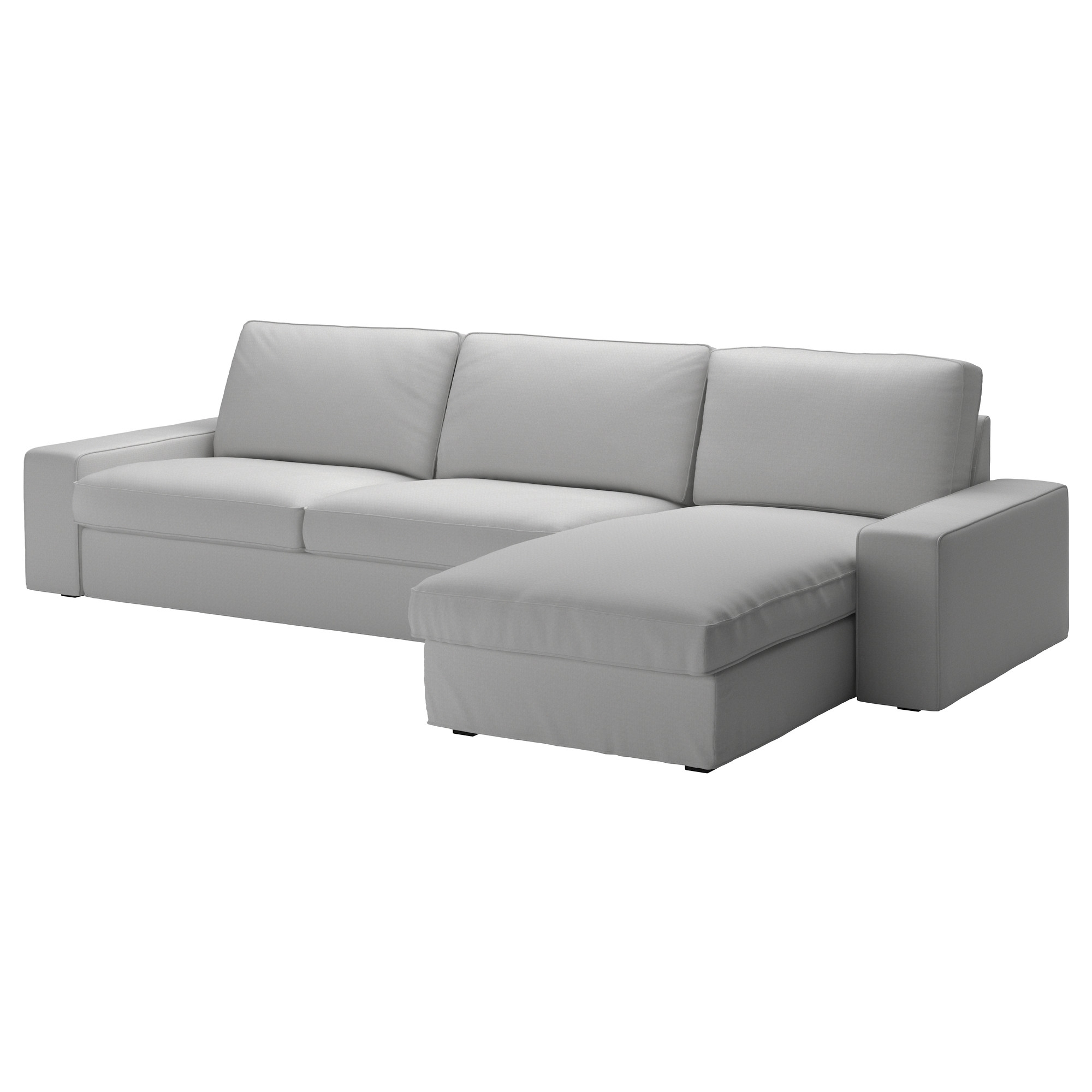 Kivik Sectional, 4 Seat   Orrsta Light Gray   Ikea Pertaining To Sectional Sofas At Ikea (Photo 3 of 15)