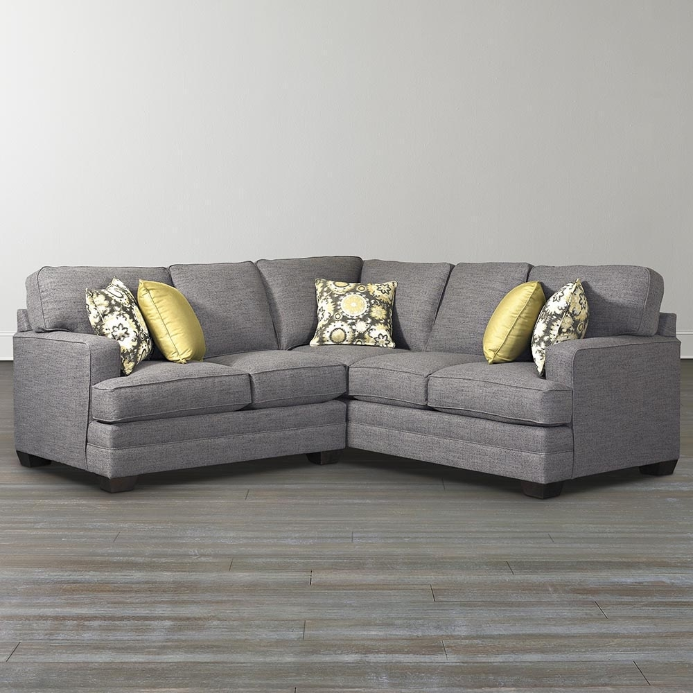 L Shaped Sectional Sofa Custom Bassett Furniture 1 - Quantiply.co with Sectional Sofas At Bassett (Image 11 of 15)