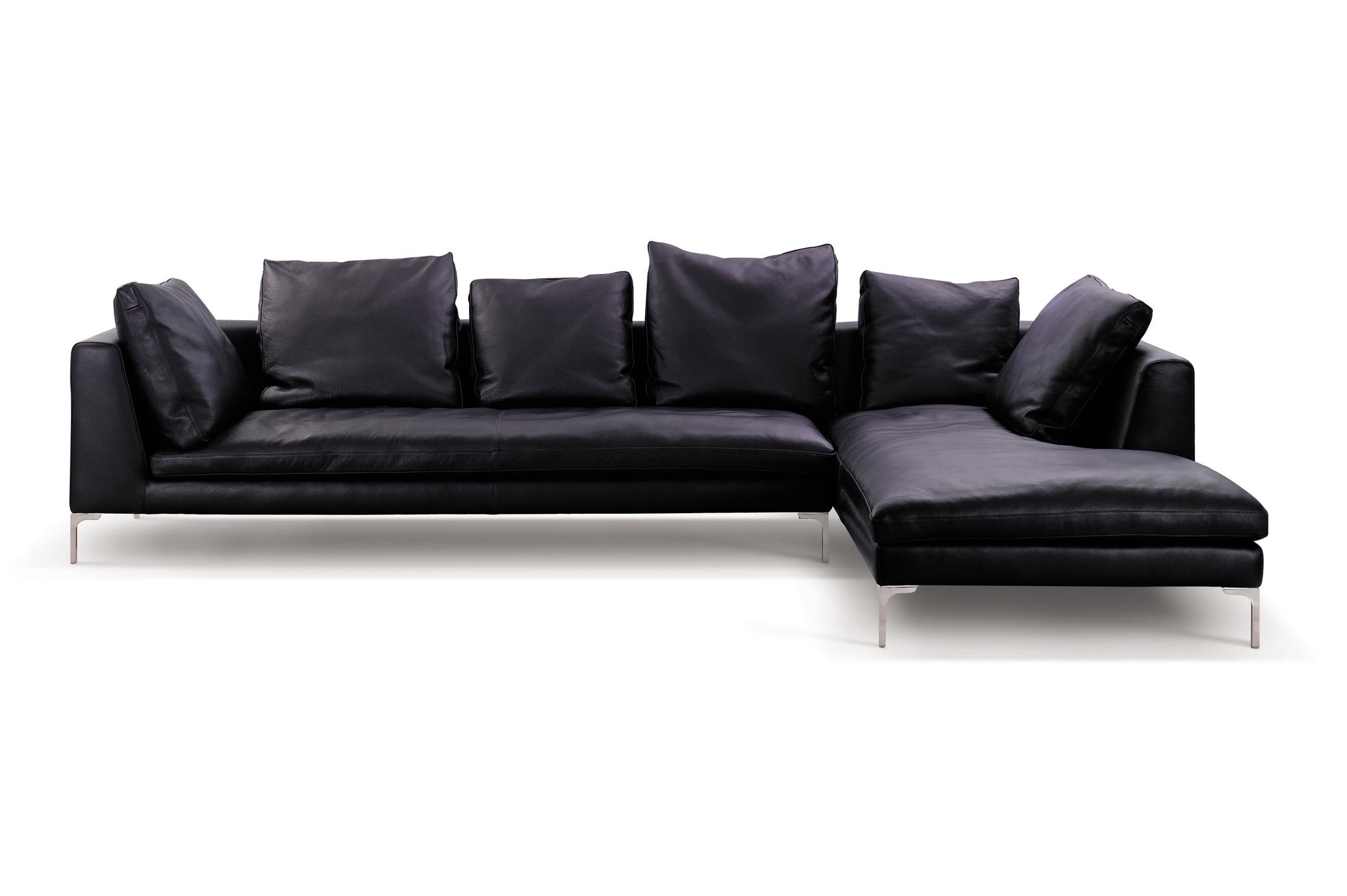 L Shaped Sofa Uk Leather With Chaise Sofas Designs India Minimalist in Sectional Sofas At Bangalore (Image 6 of 15)