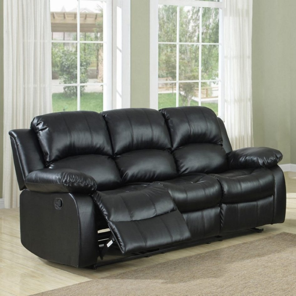 La Z Boy Kennedy Leather Sectional Sofa With Recliner Fabric Sofas Intended For Sectional Sofas With Recliners For Small Spaces (View 4 of 10)