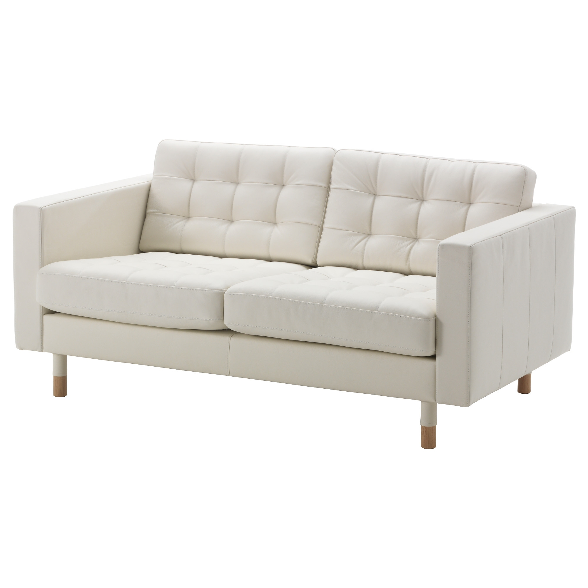 Landskrona Loveseat - Grann/bomstad White, Wood - Ikea inside Ikea Small Sofas (Image 5 of 10)