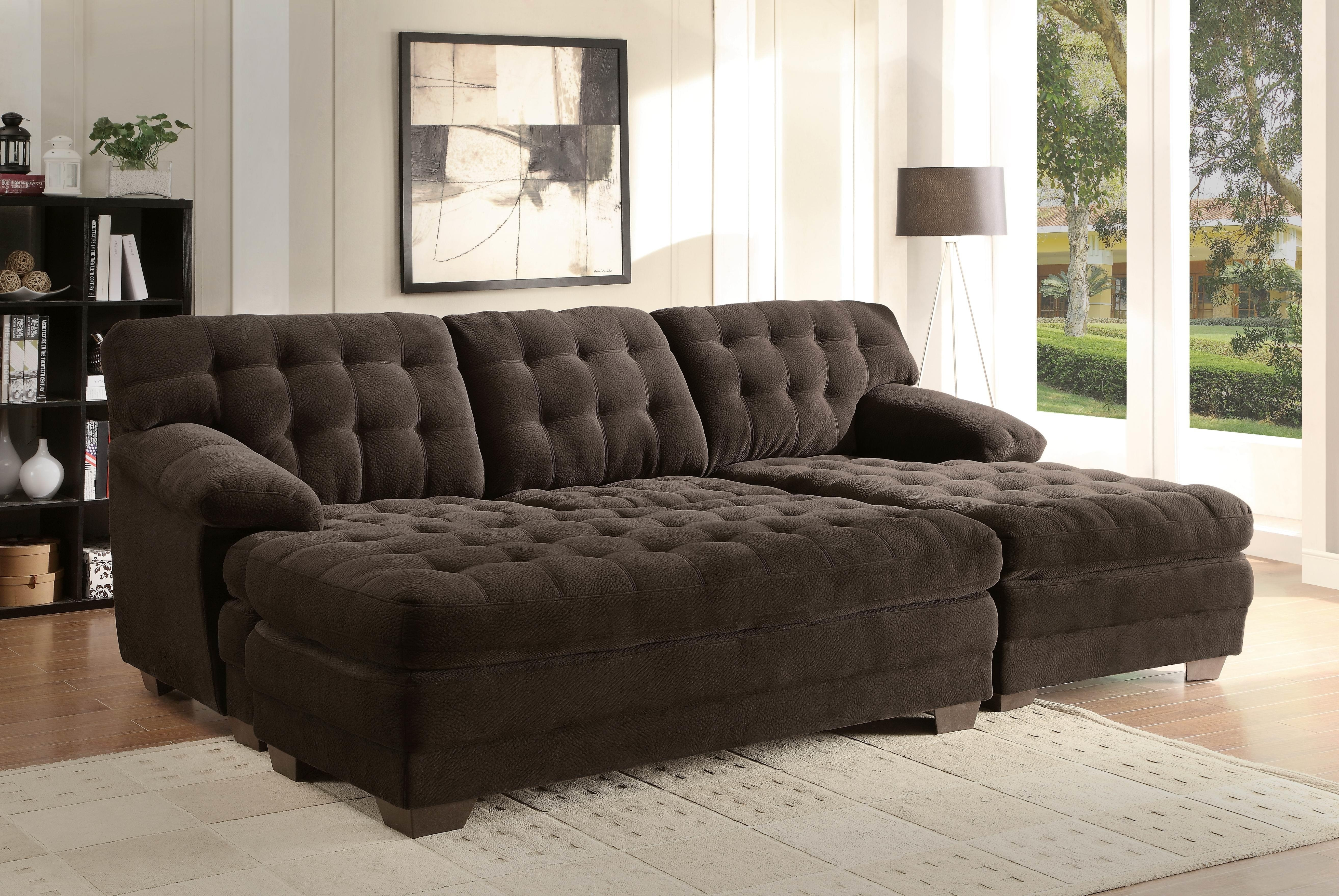 Large Sectional Sofa With Ottoman | Aifaresidency in Sofas With Large Ottoman (Image 5 of 10)