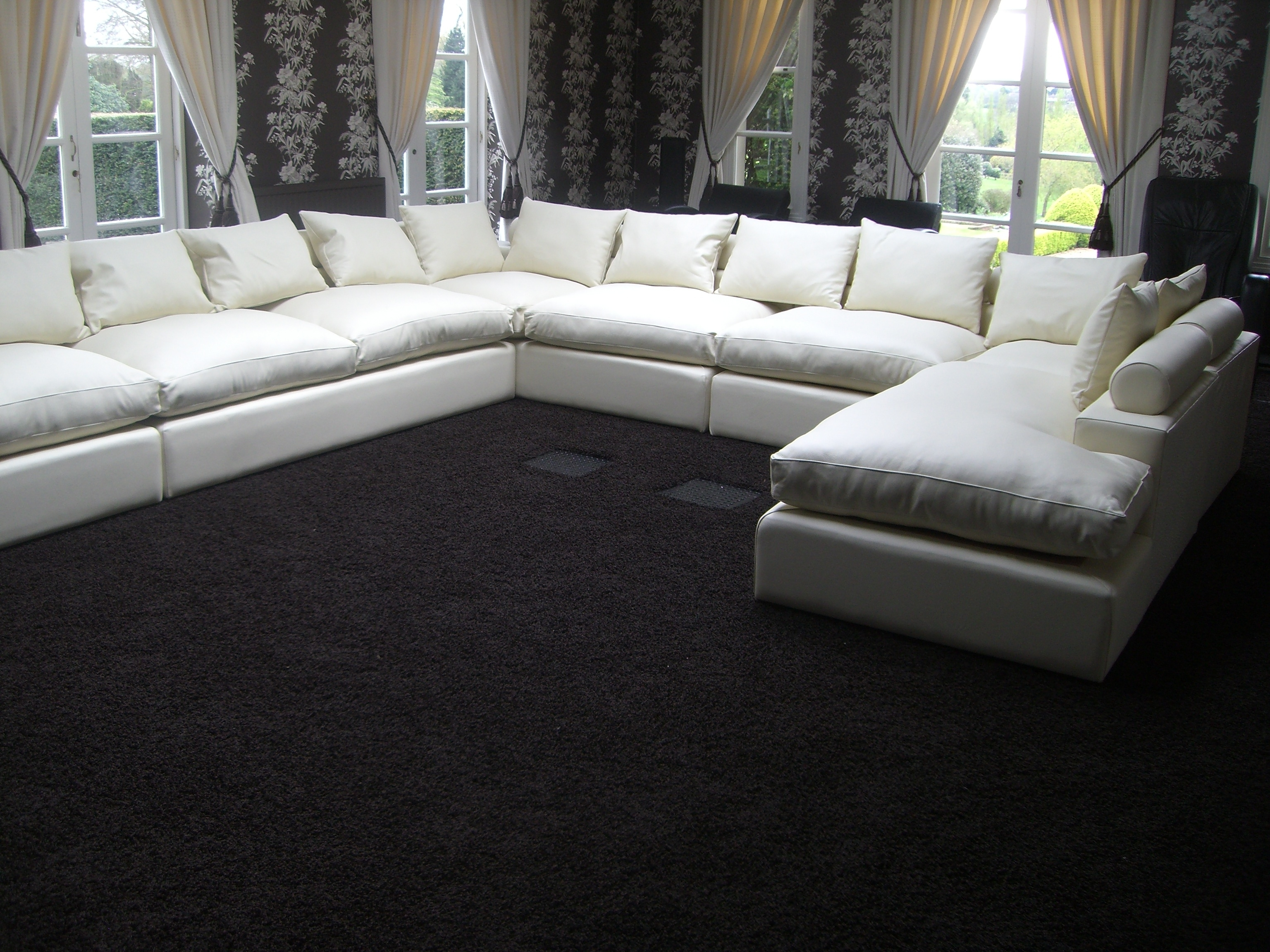 Large U Shaped Sofa 44 With Large U Shaped Sofa – Fjellkjeden Inside Huge U Shaped Sectionals (View 3 of 15)