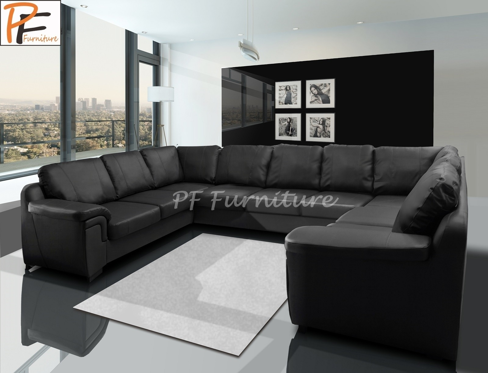 Large U Shaped Sofa - Home And Textiles throughout Large U Shaped Sectionals (Image 8 of 15)