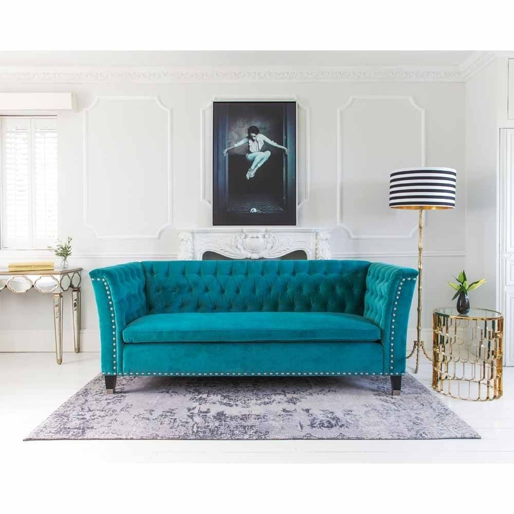 Le Souci De La Souris Wall Art | Wall Art | Home 3 | Pinterest within Turquoise Sofas (Image 2 of 10)